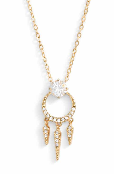 Nadri Gwen Crystal Pendant Necklace