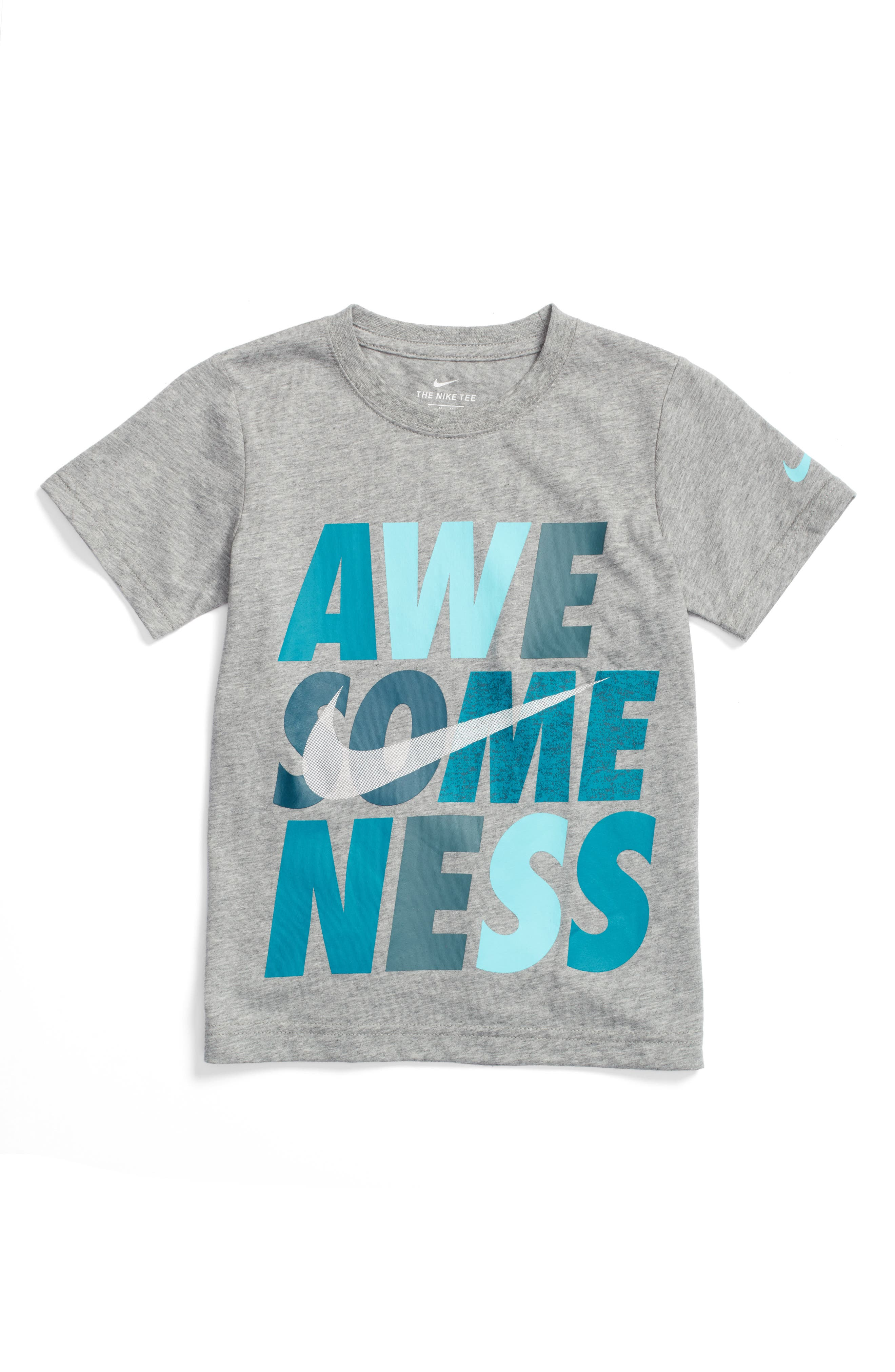 Nike Awesomeness T-Shirt (Toddler Boys & Little Boys)
