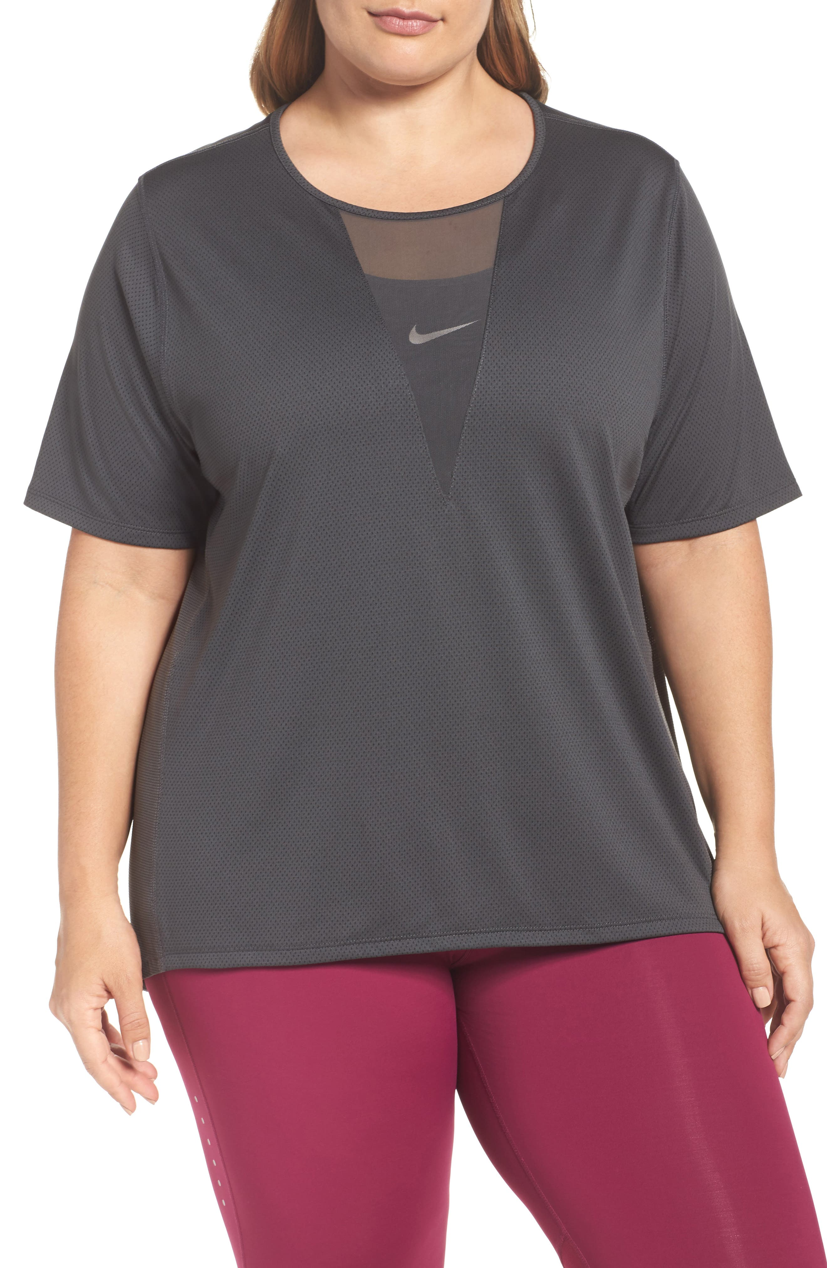 Nike Zonal Cooling Relay Tee (Plus Size)