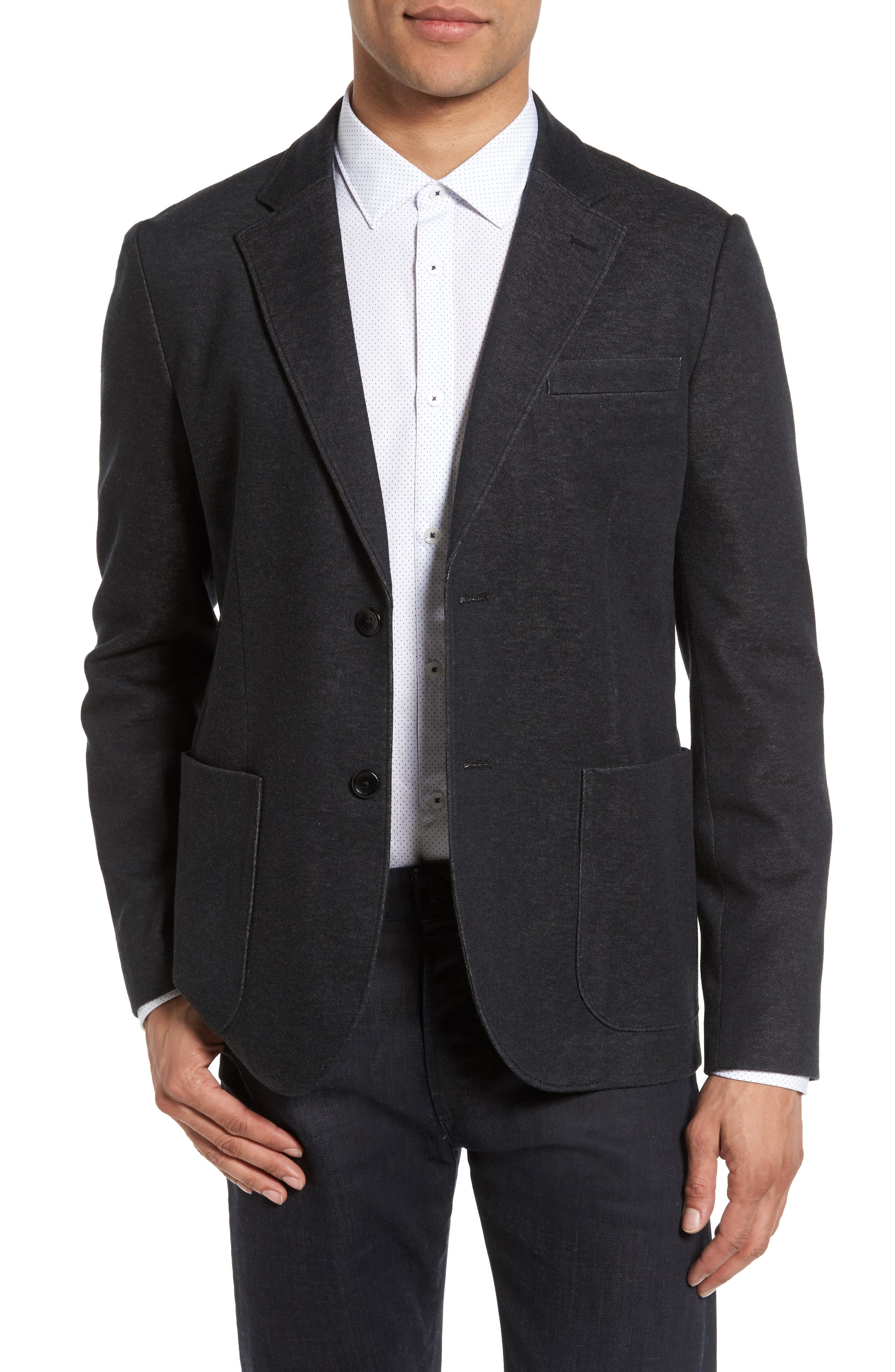Good Man Brand Soft Jersey Blazer