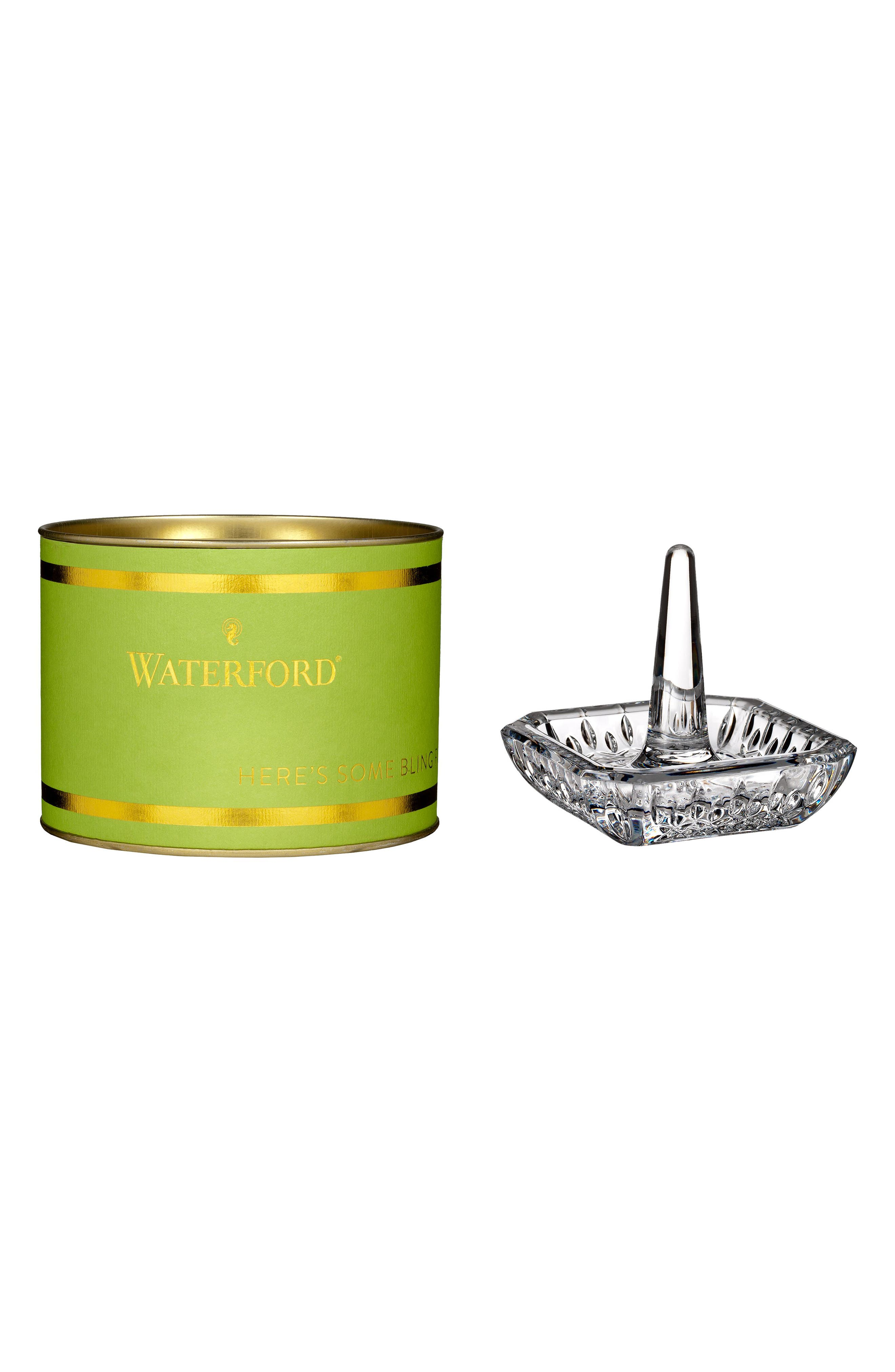 Waterford Giftology Lead Crystal Ring Holder