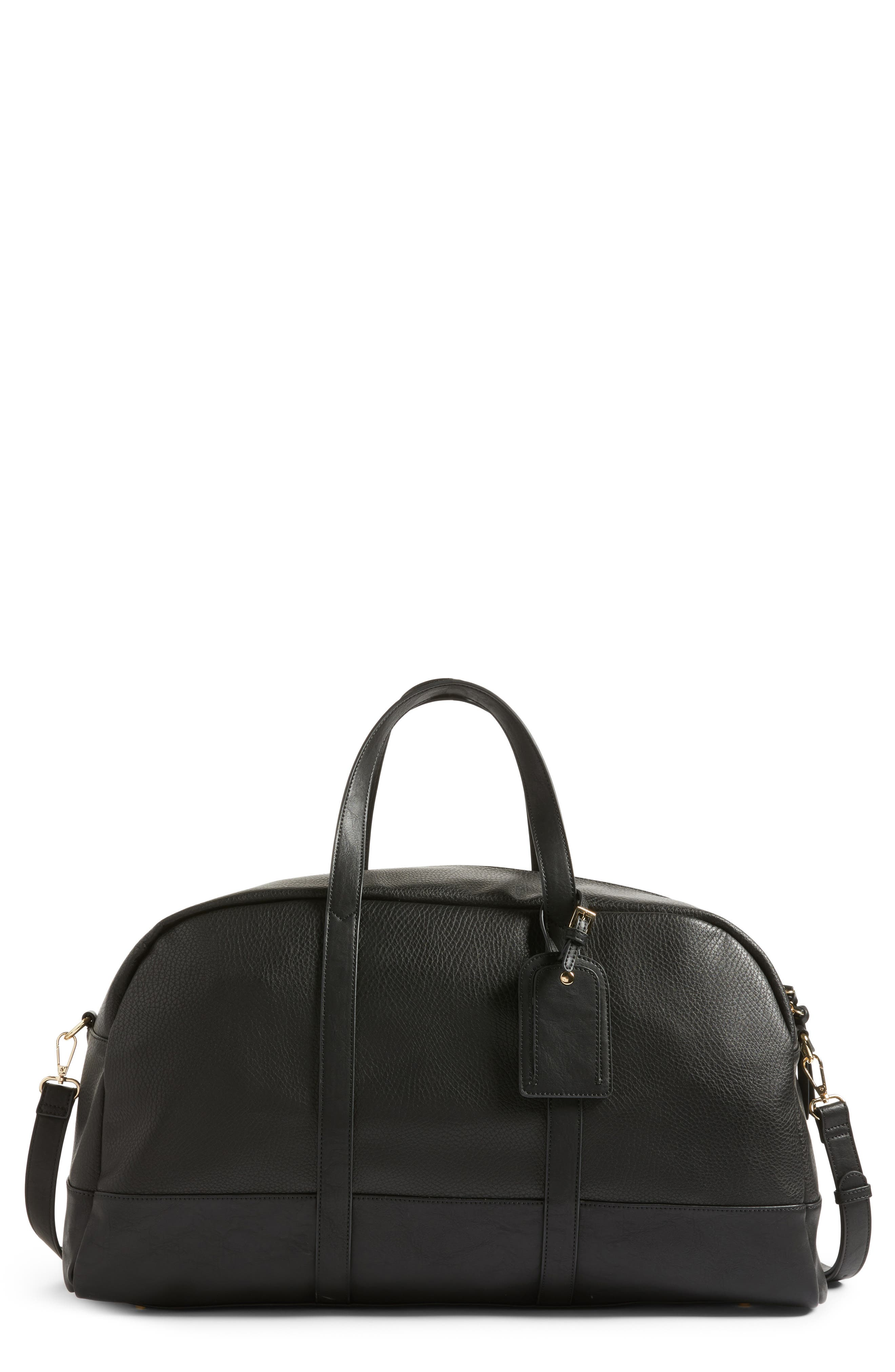Sole Society Marant Faux Leather Duffle Bag