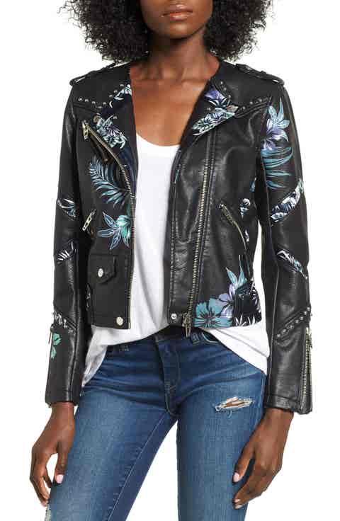 BLANKNYC Painted Moto Jacket
