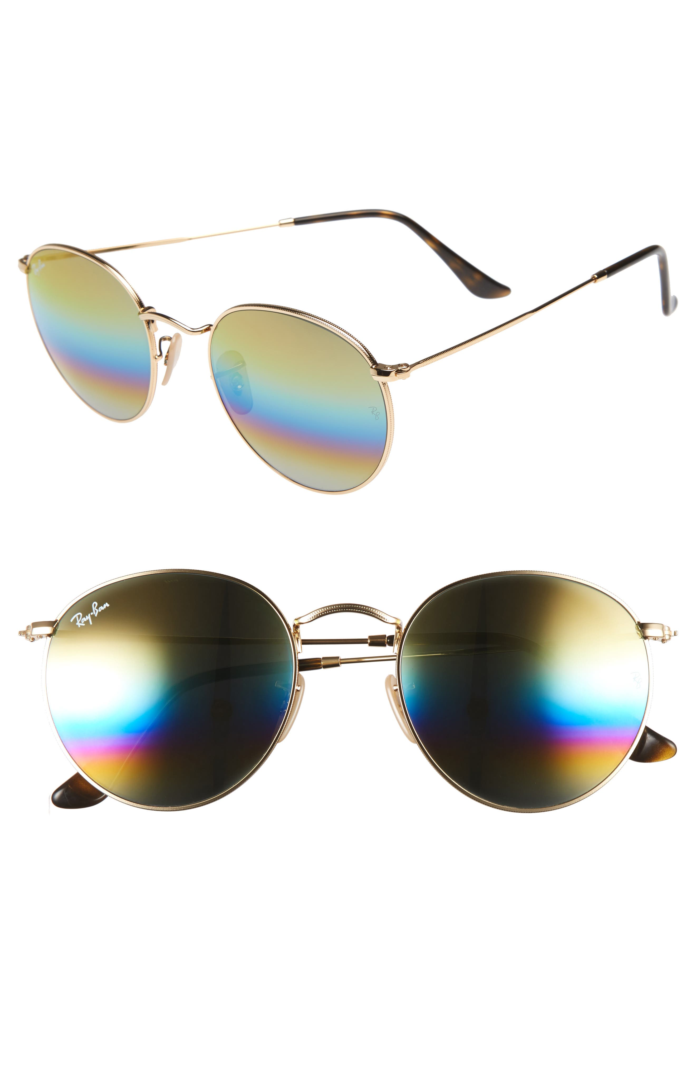 Ray-Ban 53mm Round Sunglasses (Nordstrom Exclusive)