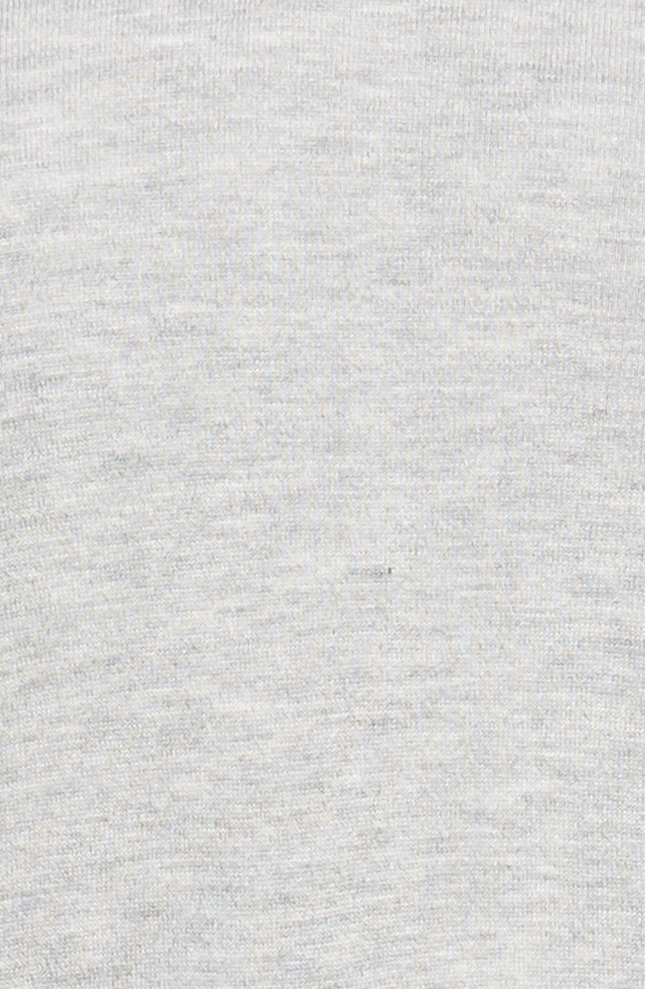 Alternate Image 5  - Halogen® Long Open Front Cardigan (Regular & Petite)