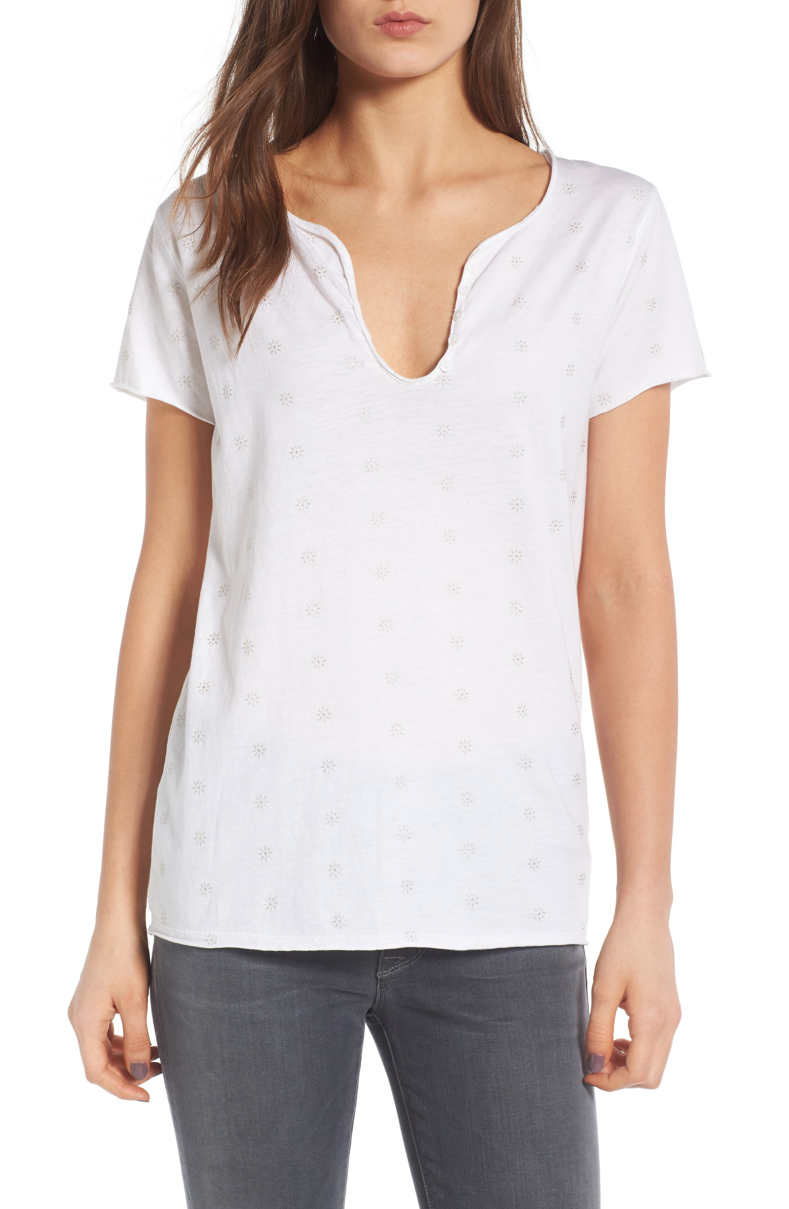 Zadig & Voltaire Tunisien Embroidered Tee