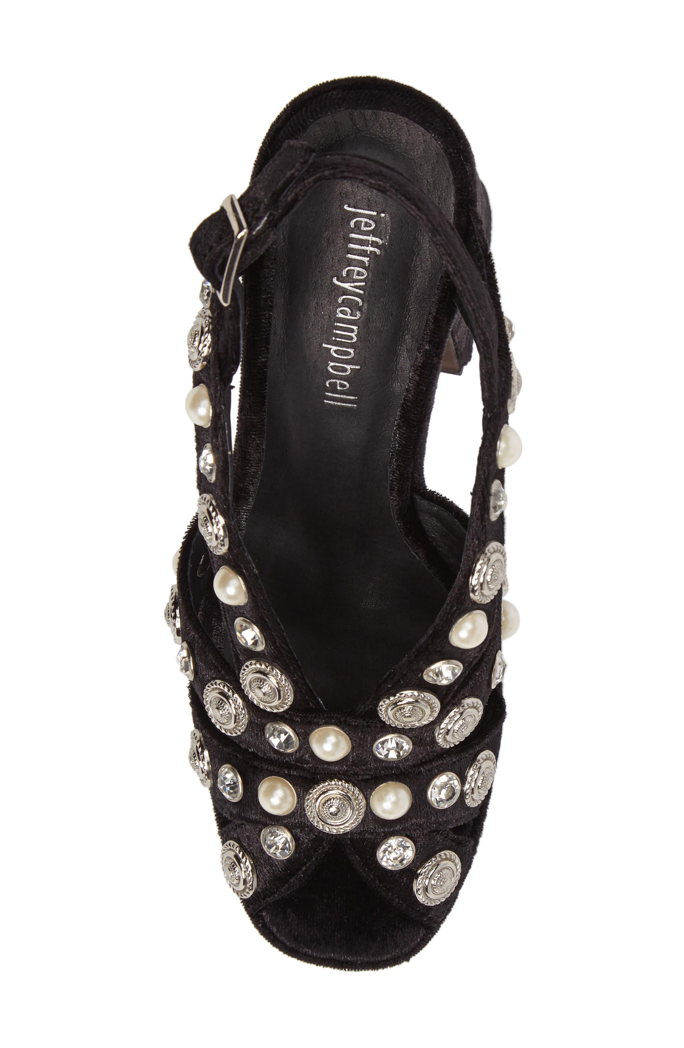 Alternate Image 5  - Jeffrey Campbell Briston Embellished Platform Sandal (Women)