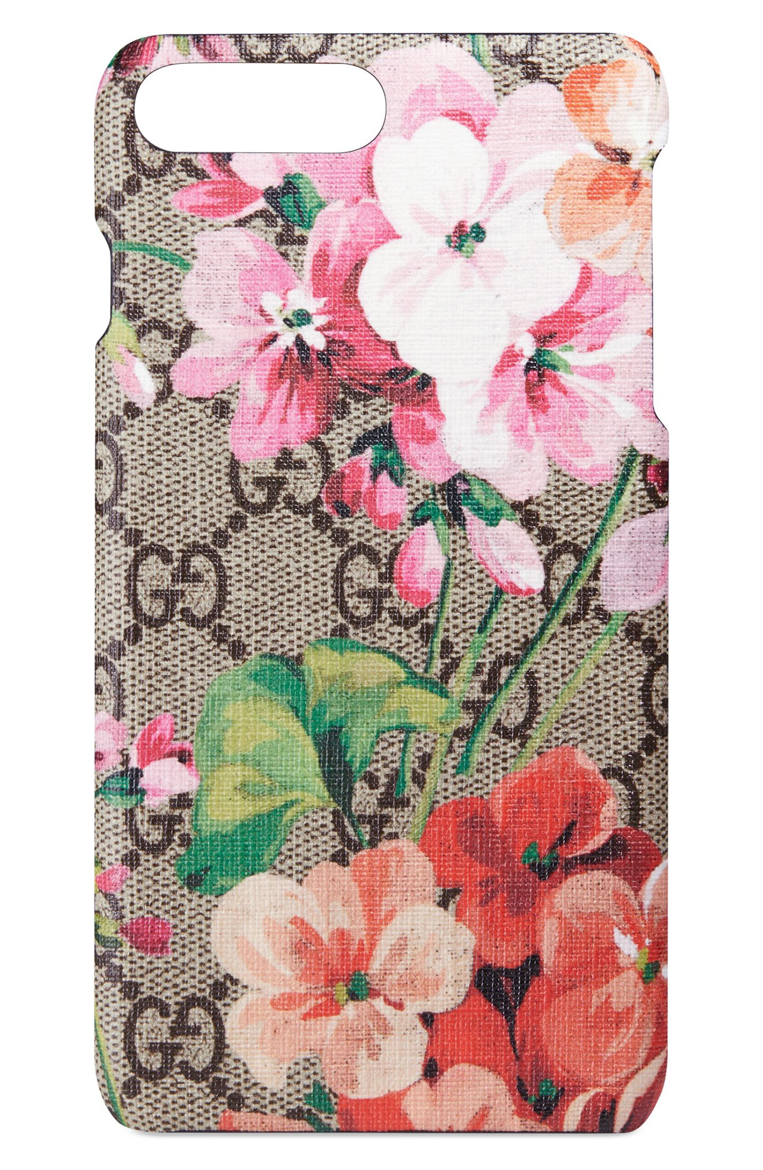 Alternate Image 1 Selected - Gucci GG Blooms iPhone 7 Plus Case