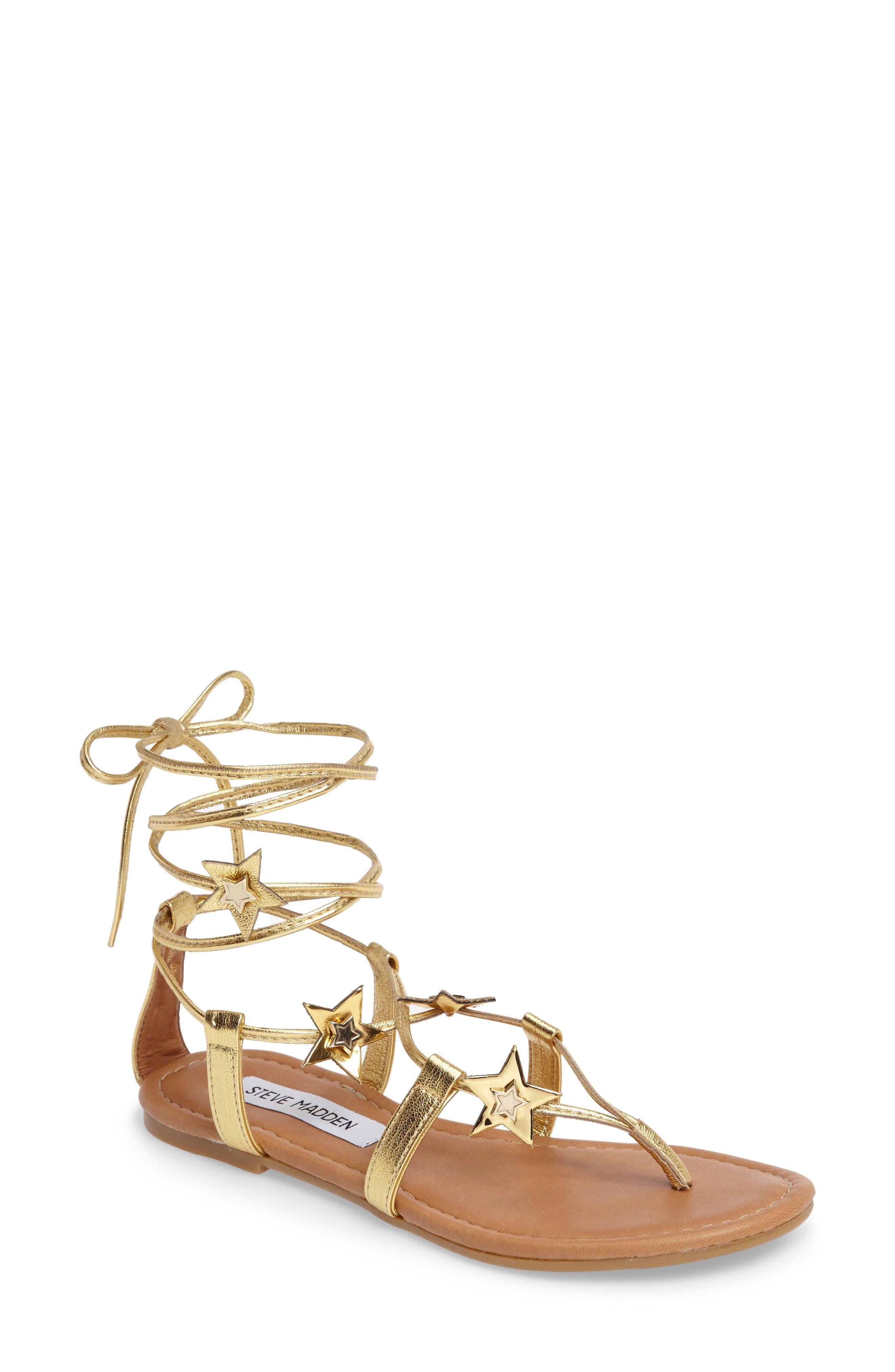 Alternate Image 1 Selected - Steve Madden Jupiter Lace Up Sandal (Women)
