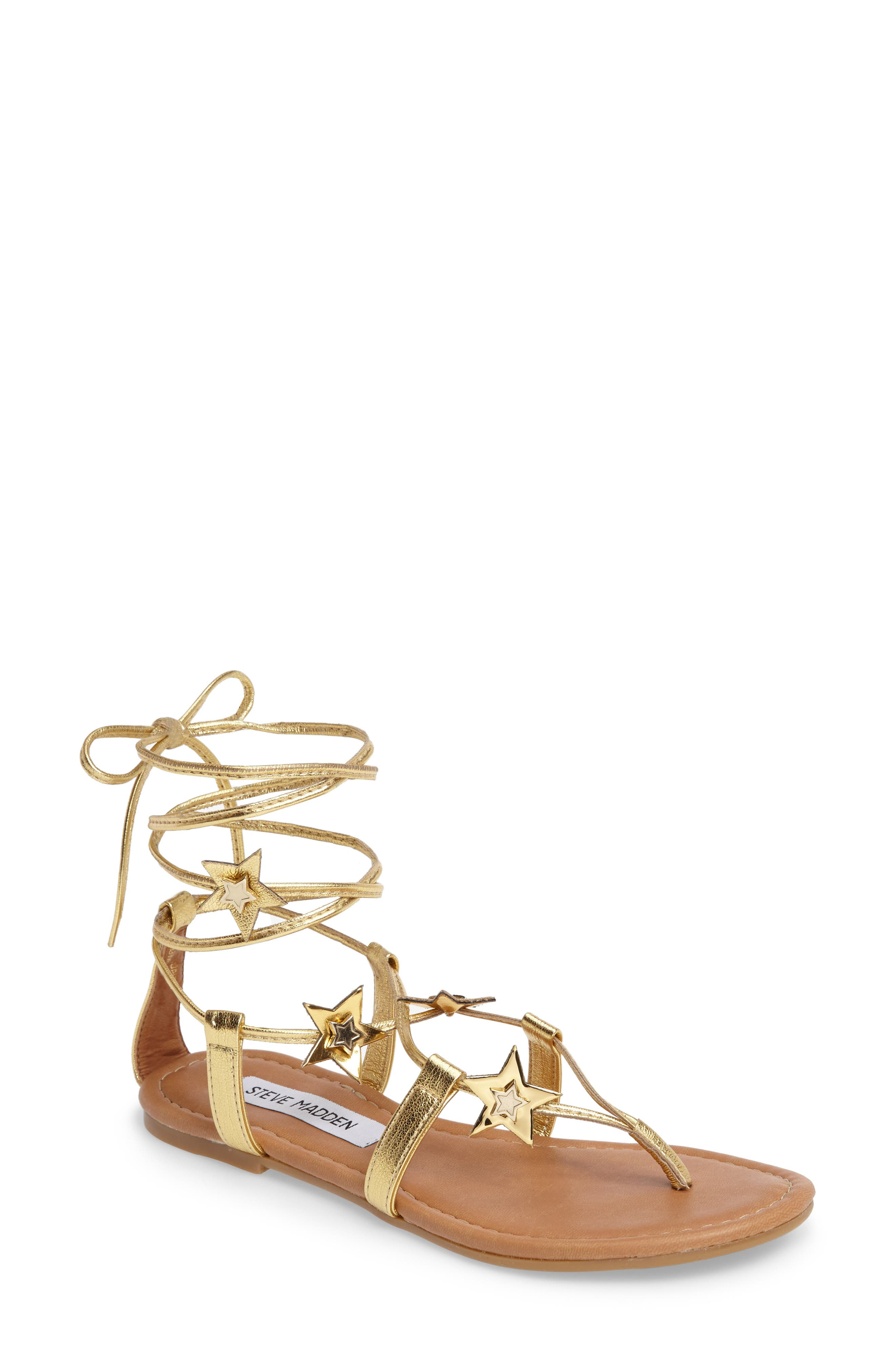 Steve Madden Jupiter Lace Up Sandal (Women)