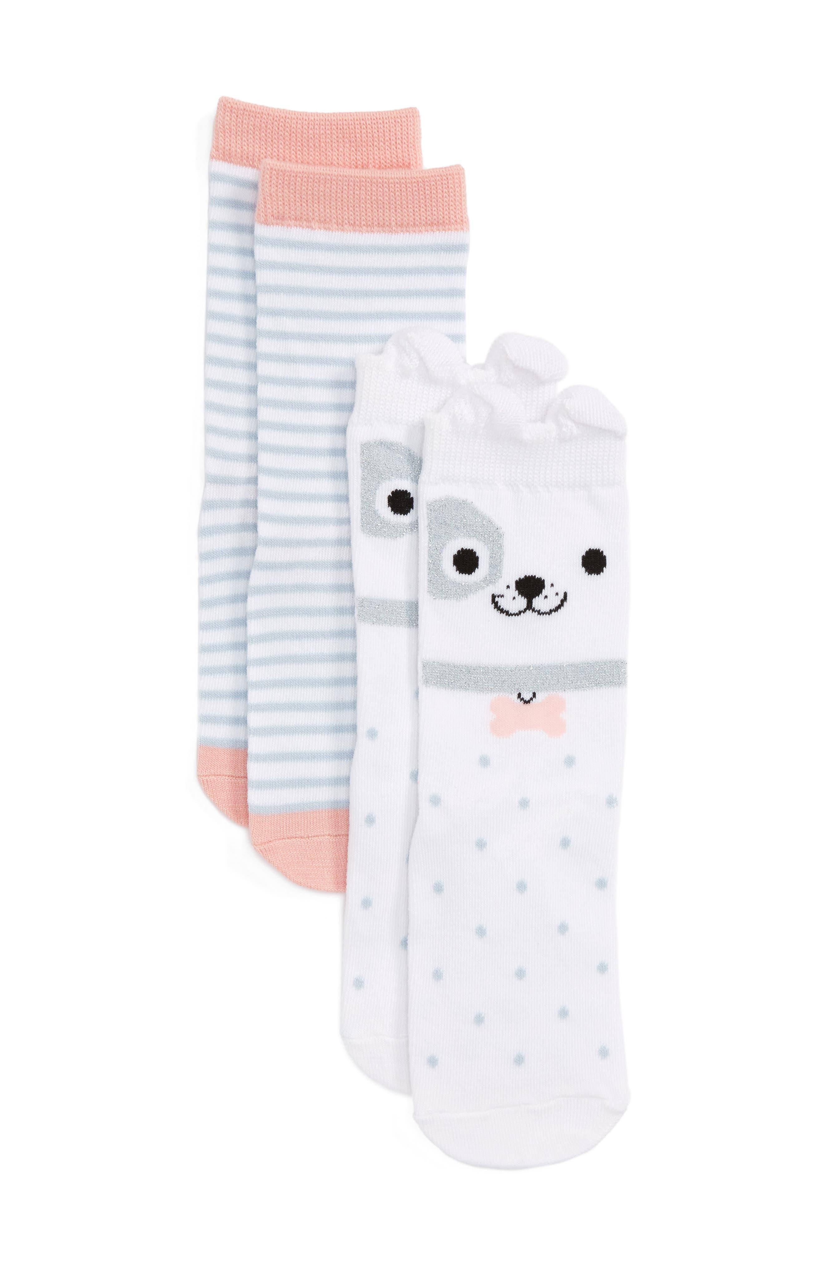 Tucker + Tate Assorted 2-Pack Socks (Toddler, Little Kid & Big Kid)
