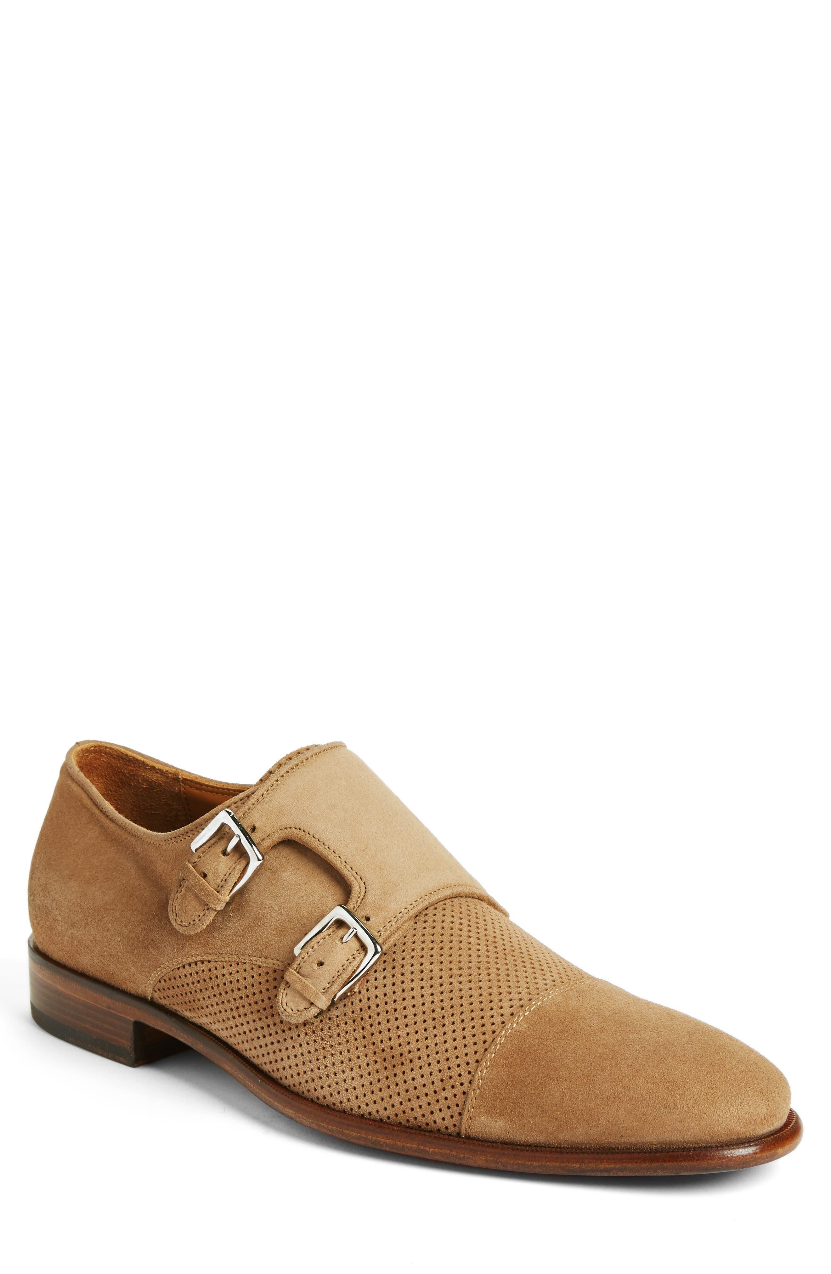 Bruno Magli Wesley Double Monk Strap Shoe (Men)