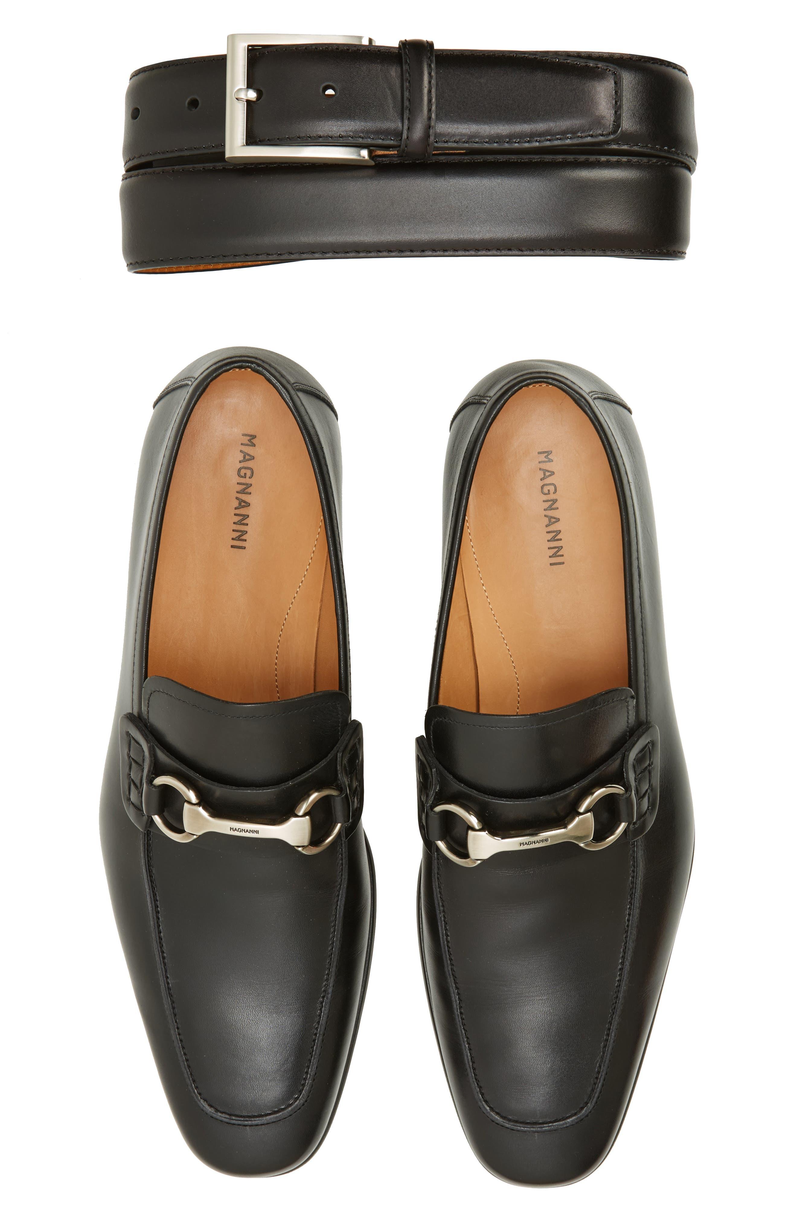 Magnanni Belt & Loafer