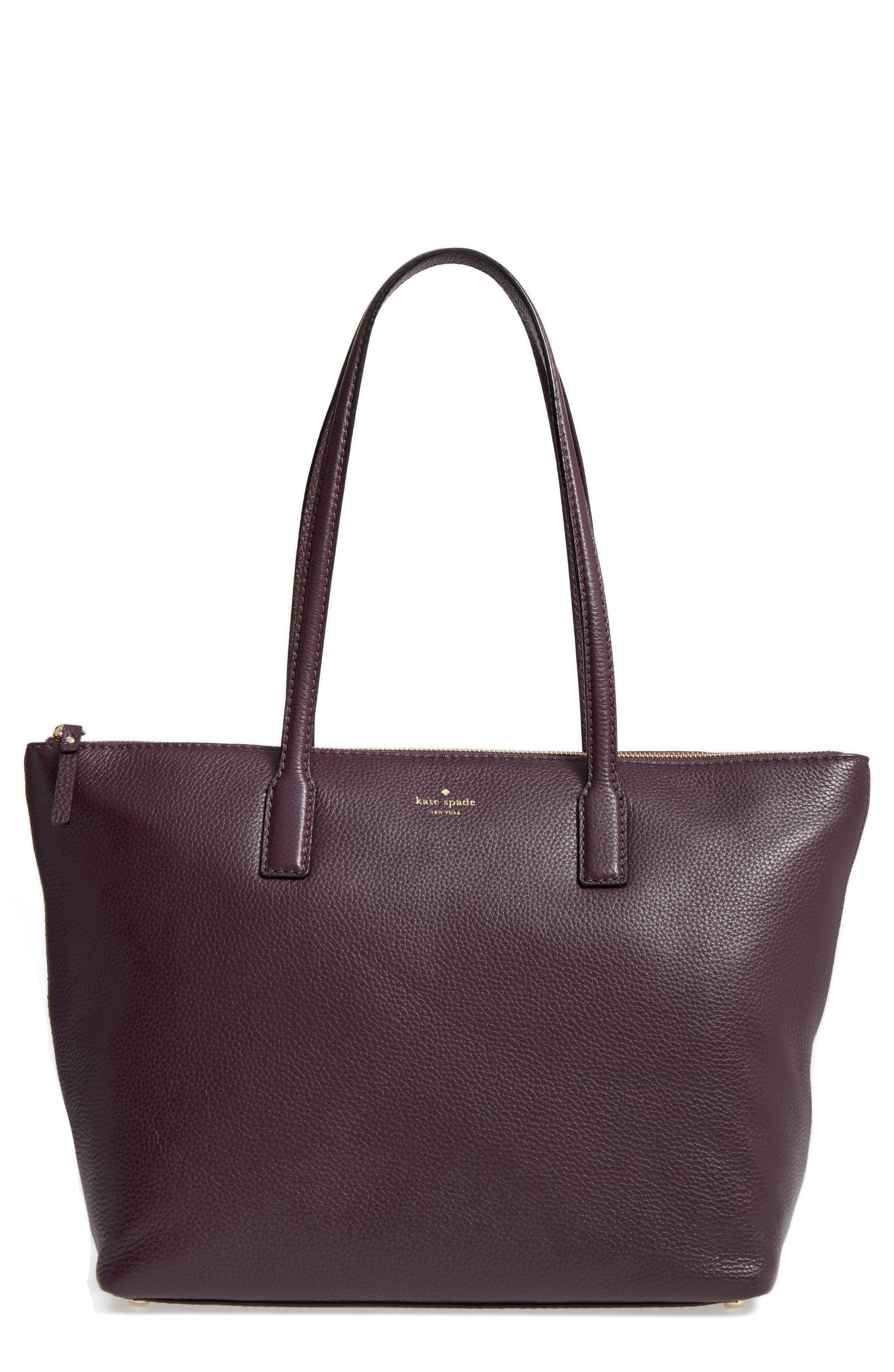 kate spade new york young lane - nyssa leather tote