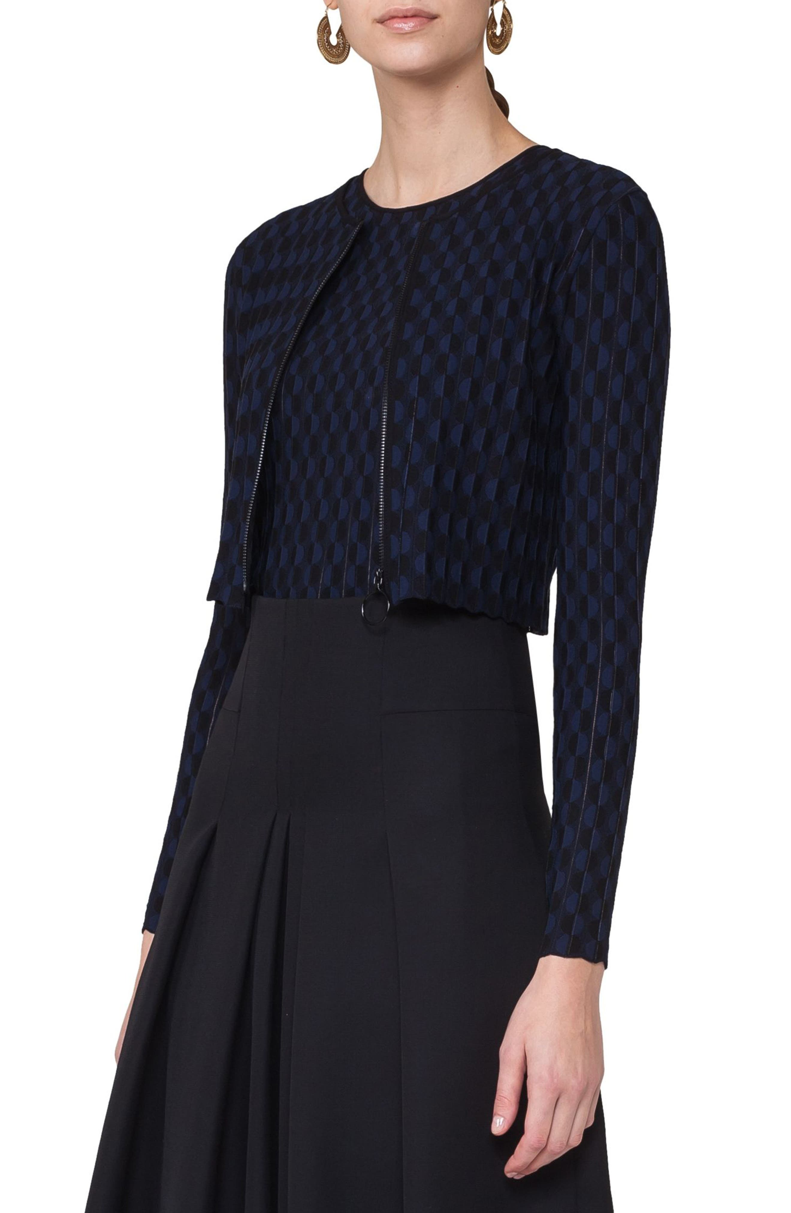 Akris punto Dot Knit Bolero