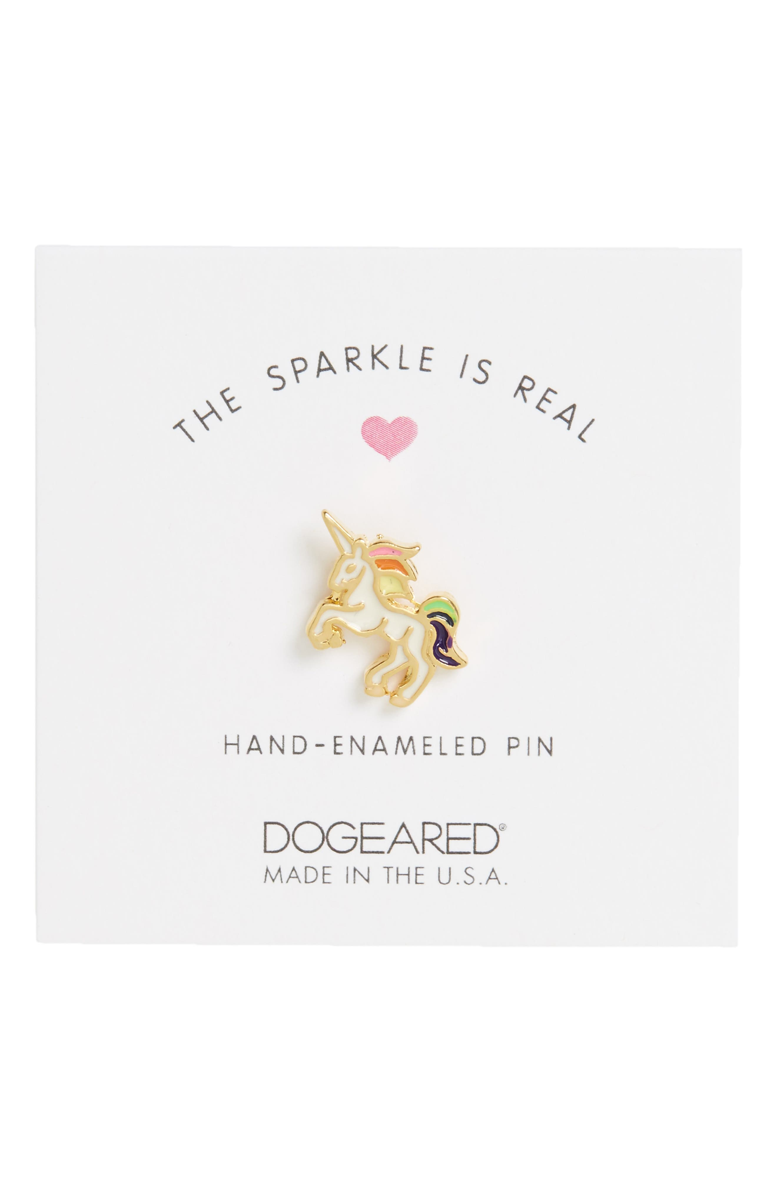 Alternate Image 1 Selected - Dogeared The Sparkle Is Real Pin