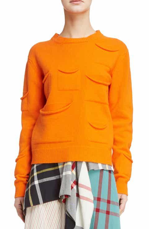 J.W.ANDERSON Multi Pocket Crewneck Sweater