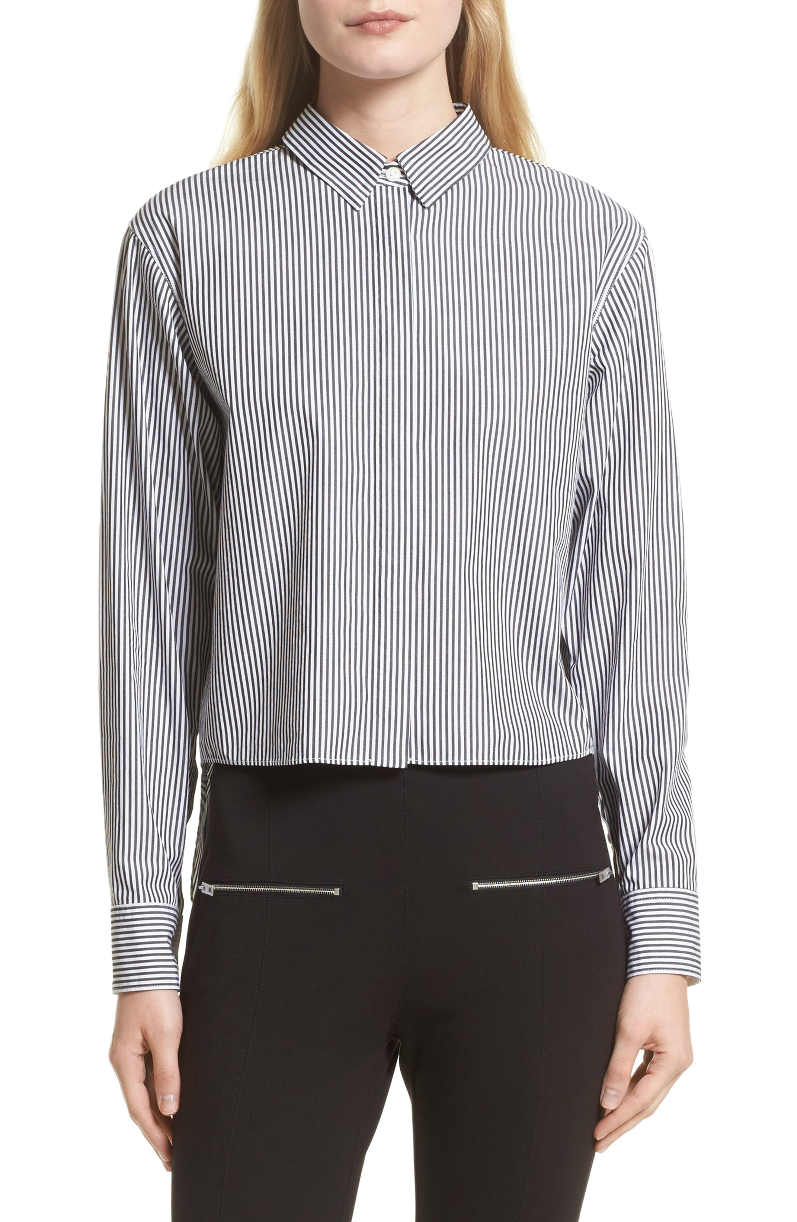 rag & bone Calder Stripe Reversible Top (Nordstrom Exclusive)