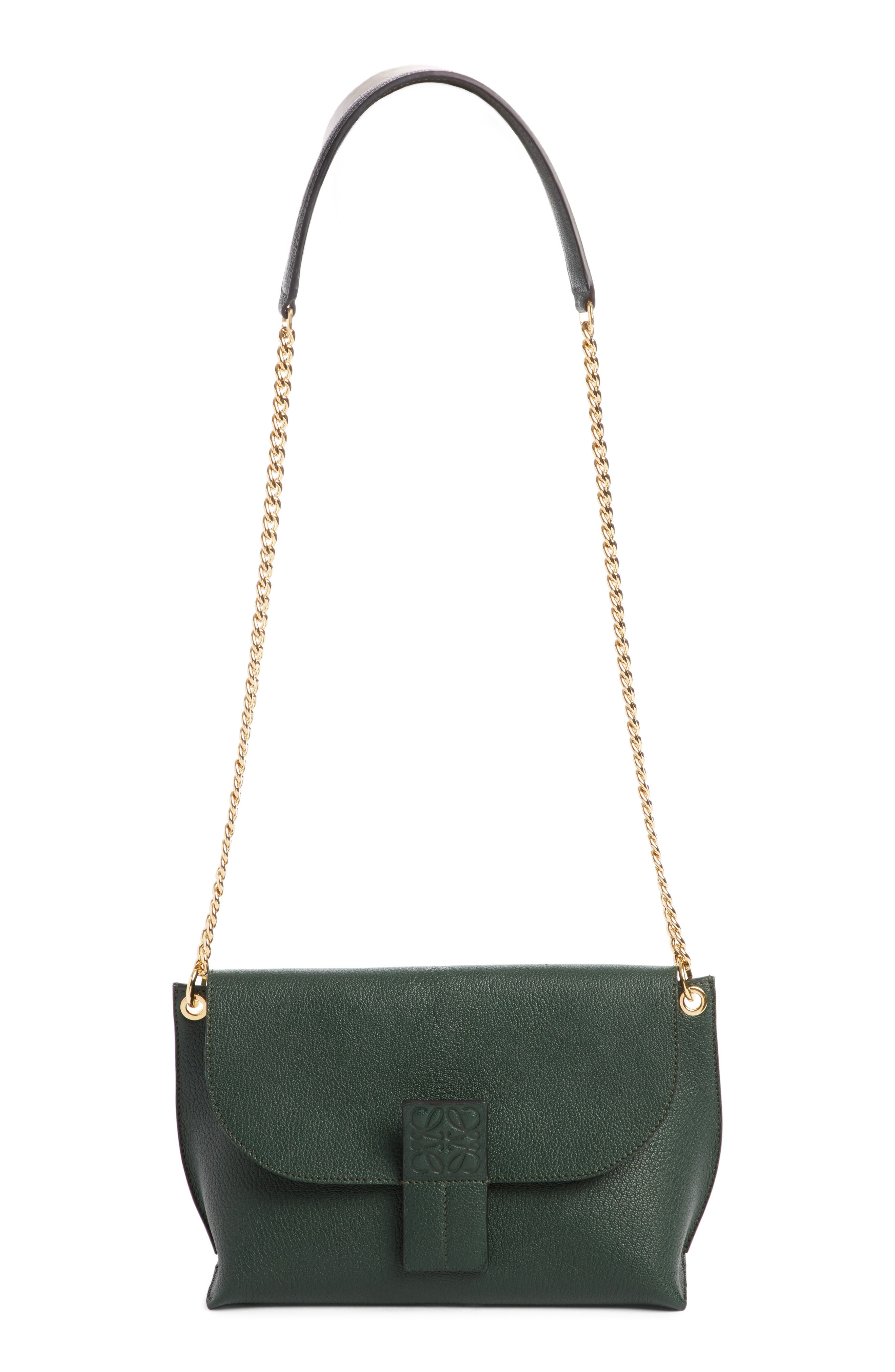 Loewe Avenue Leather Crossbody Bag