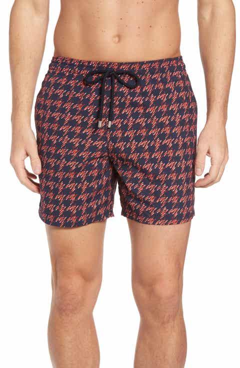 Men 39 s vilebrequin swimwear board shorts swim trunks for Fishing swim trunks