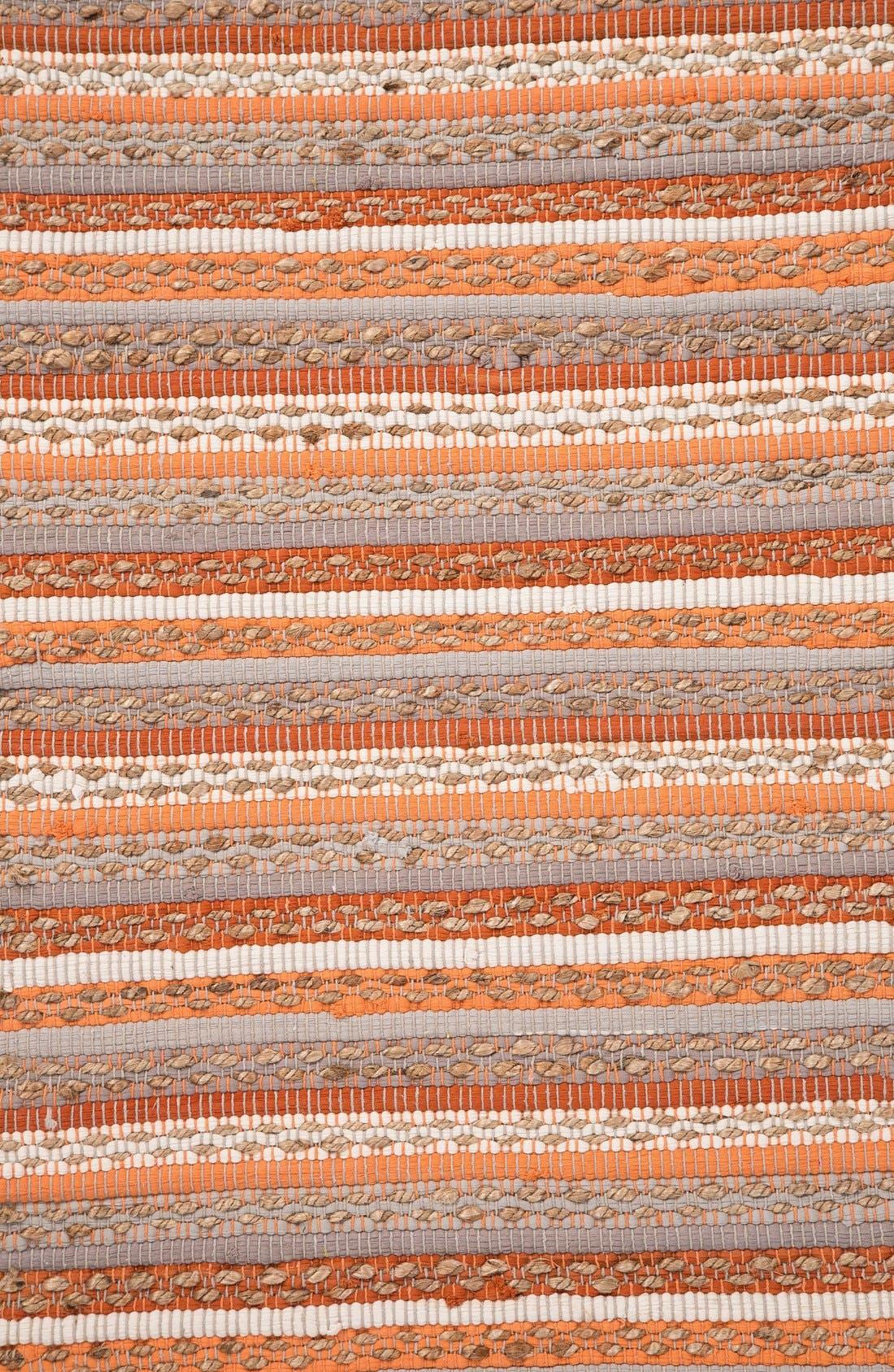 Alternate Image 4  - Jaipur 'Croydon' Cotton & Jute Accent Rug