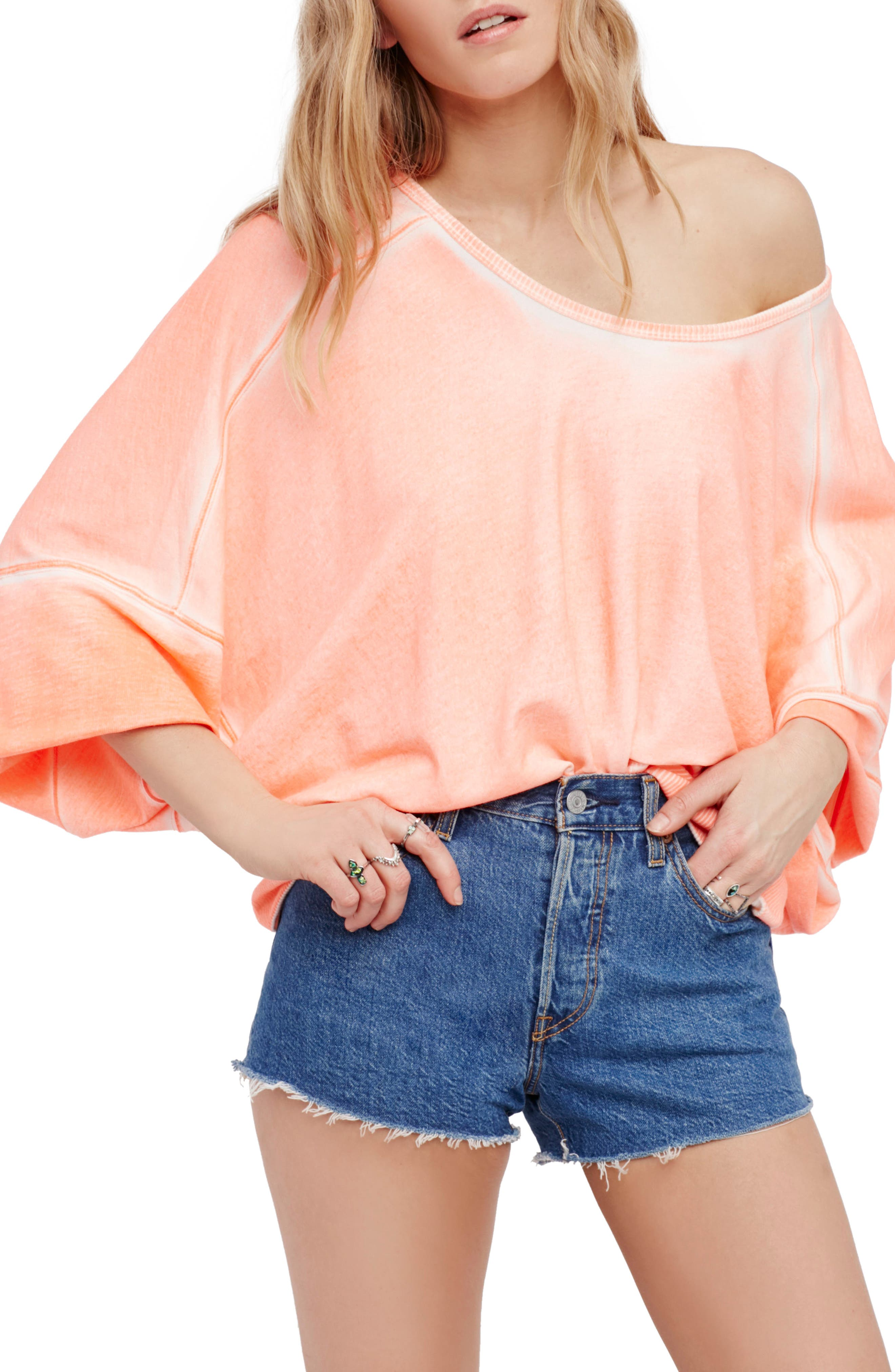 Free People Back It Up Pullover
