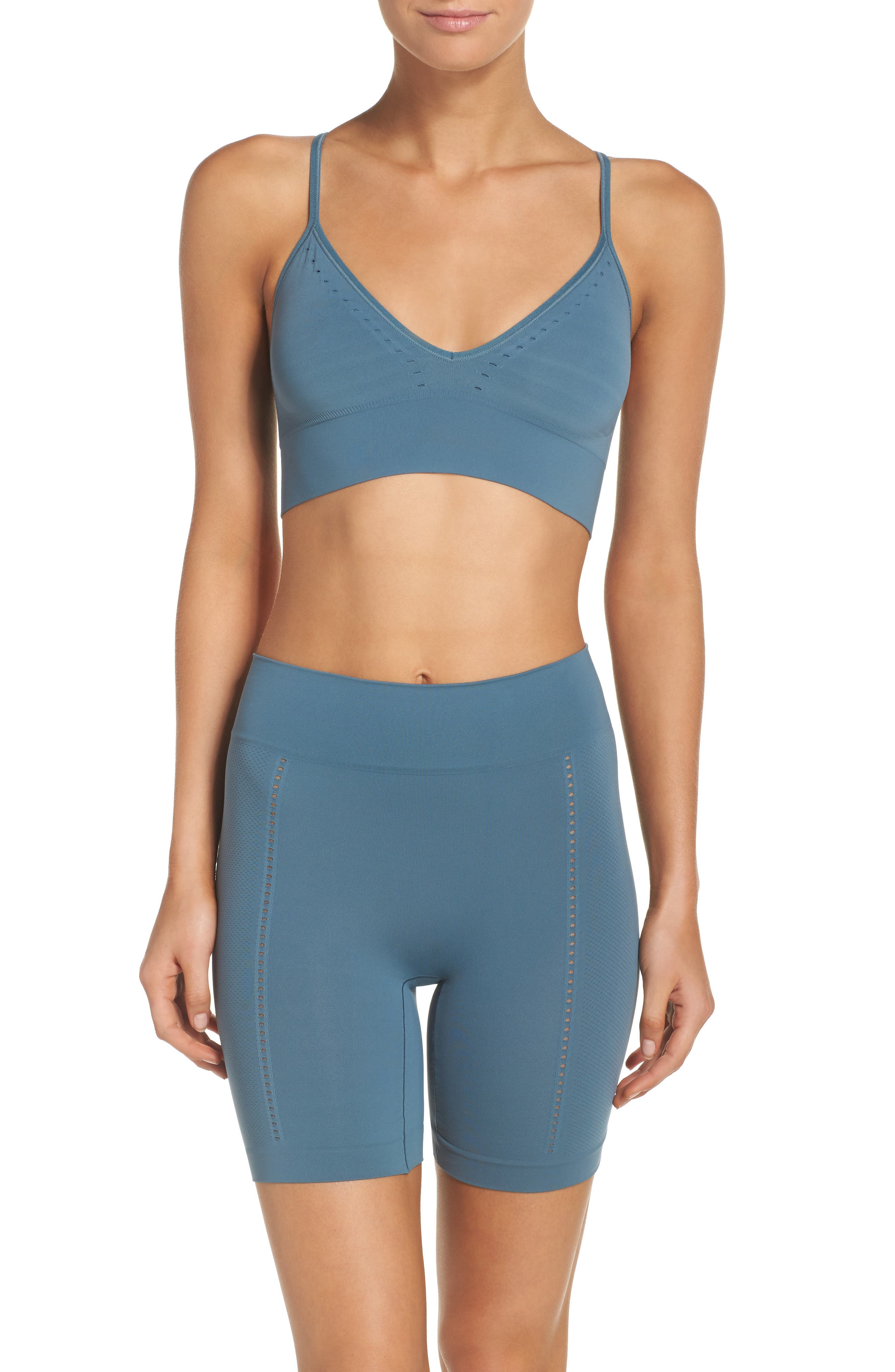 SPANX® 'Lounge-Hooray!' Bralette & Shorts