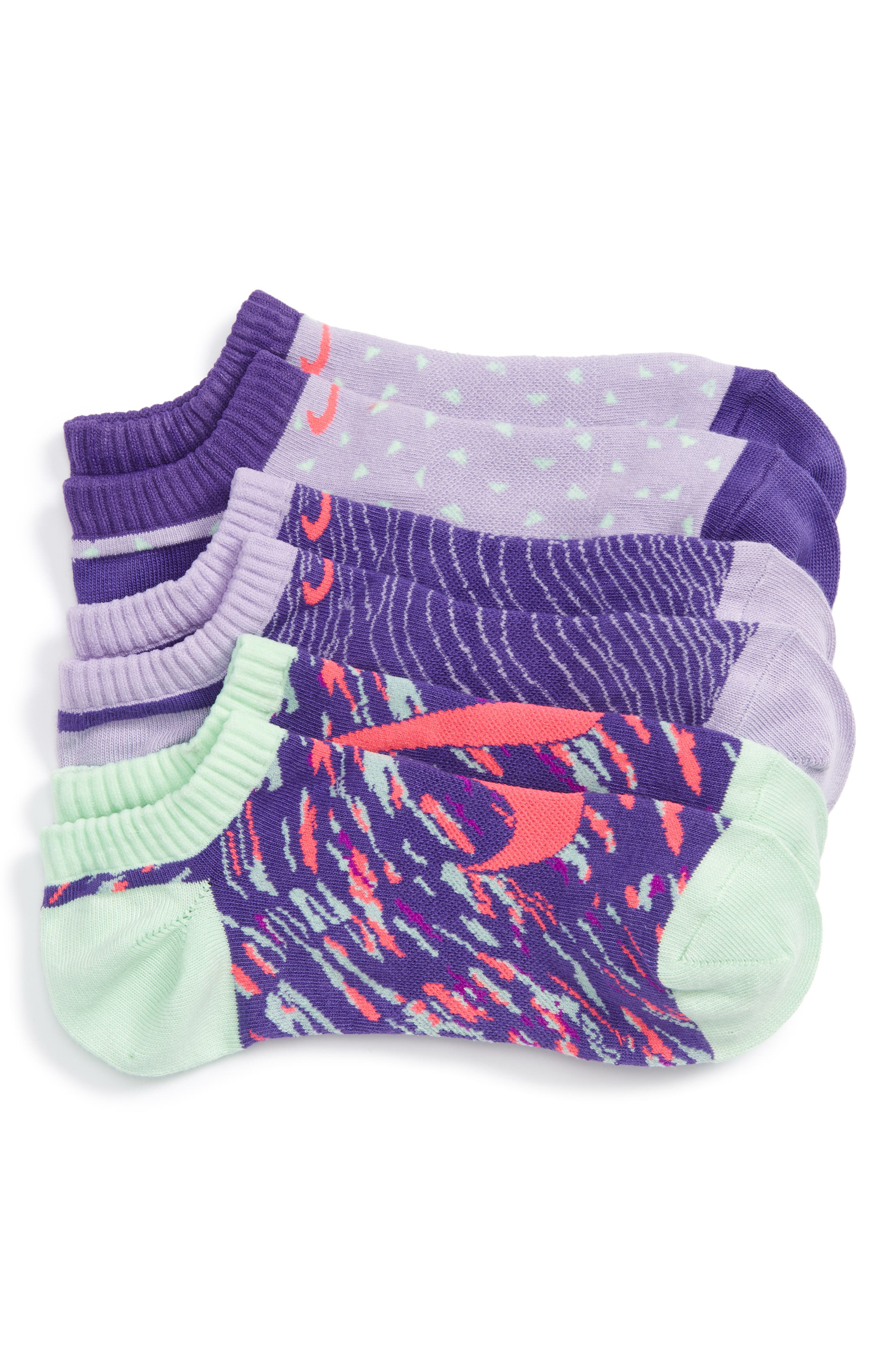 Nike 3-Pack No-Show Socks (Walker, Toddler, Little Kid & Big Kid)