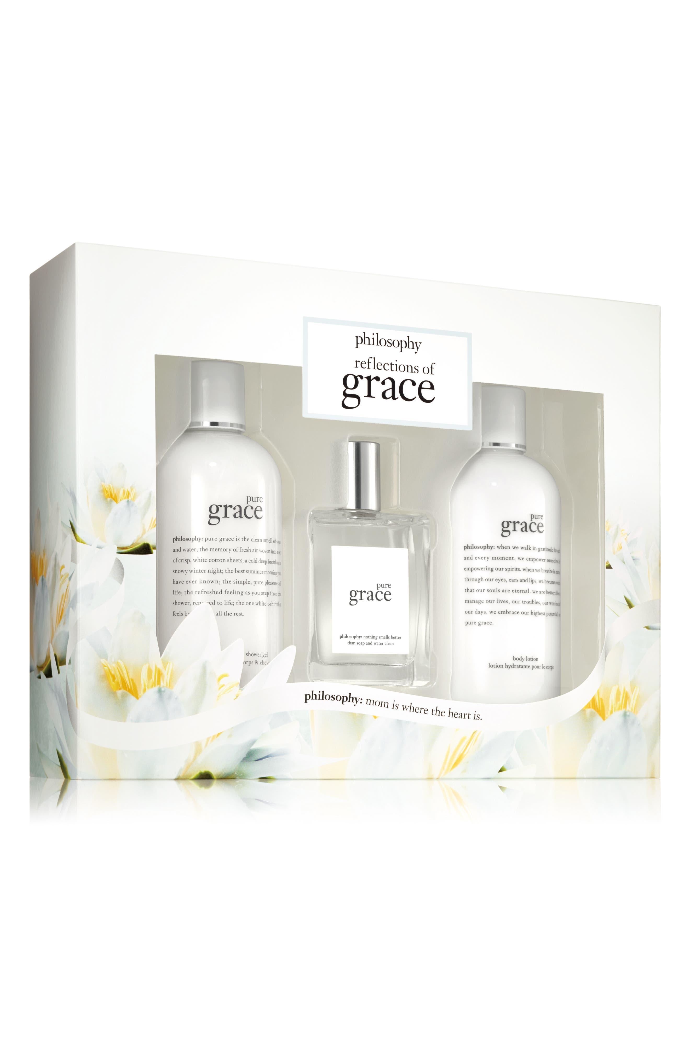 Alternate Image 1 Selected - philosophy pure grace set ($88 Value)