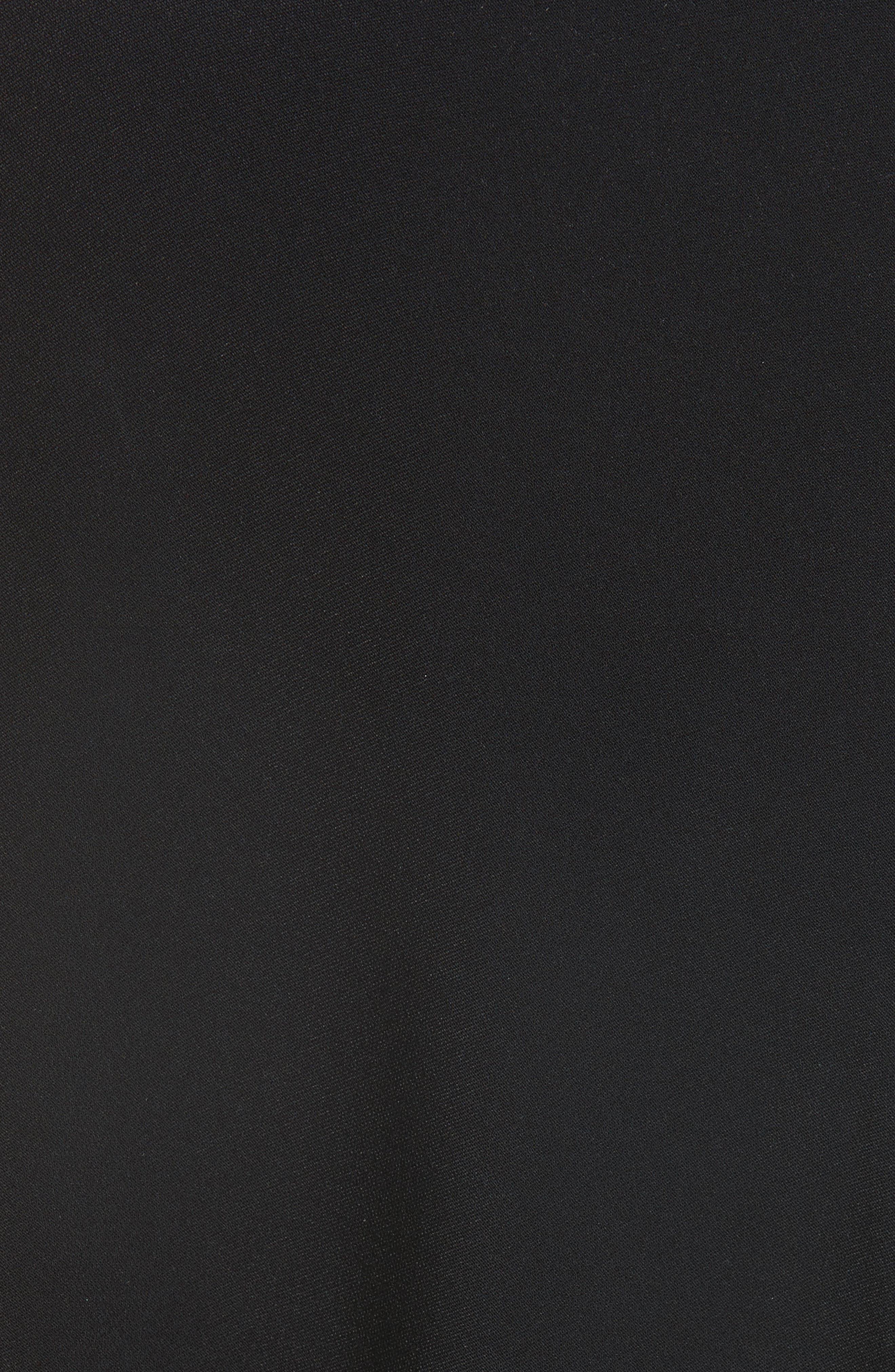 Alternate Image 3  - Stella McCartney Fringe Overlay Stretch Cady Dress