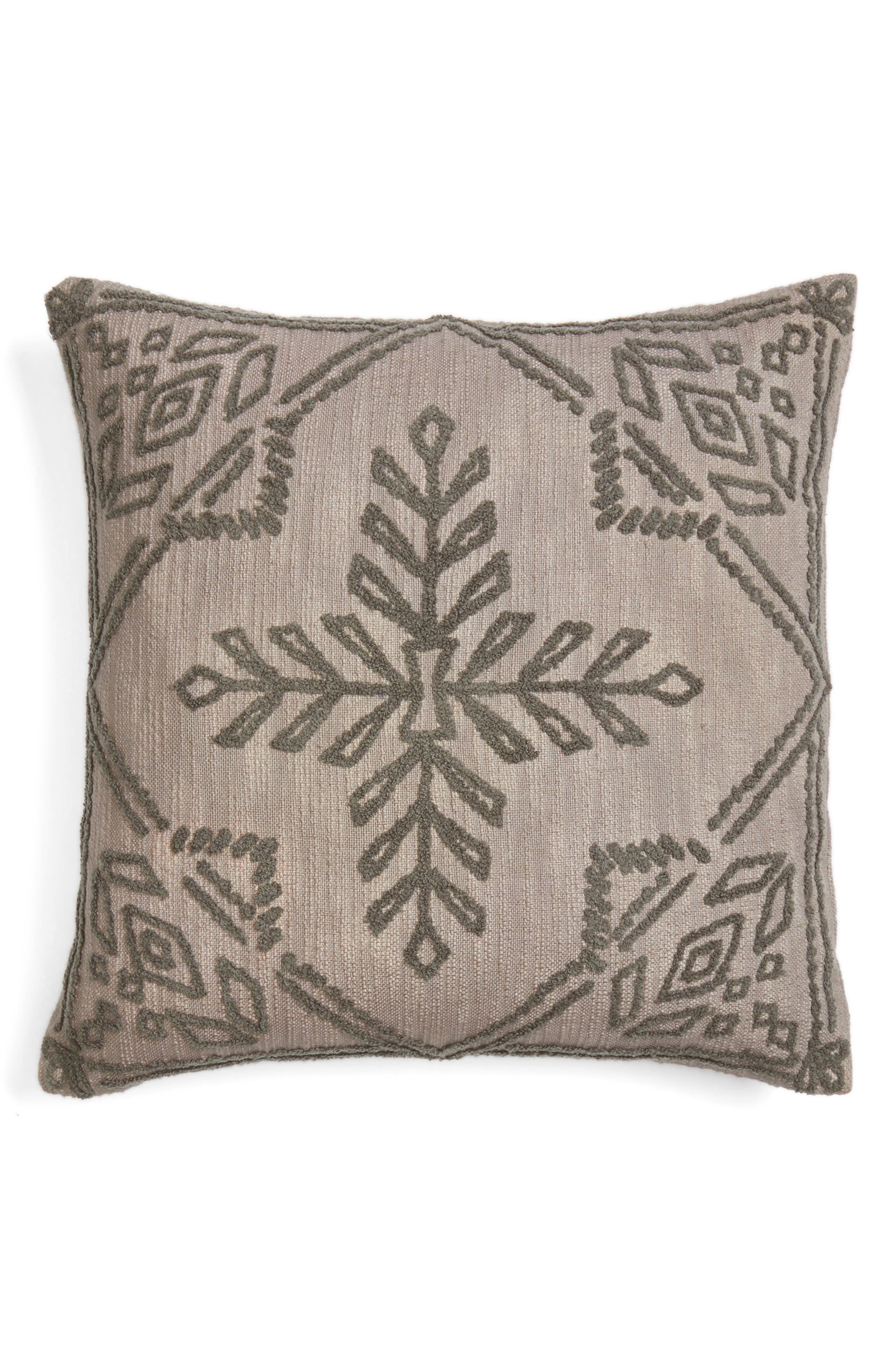 Nordstrom at Home Aya Embroidered Accent Pillow