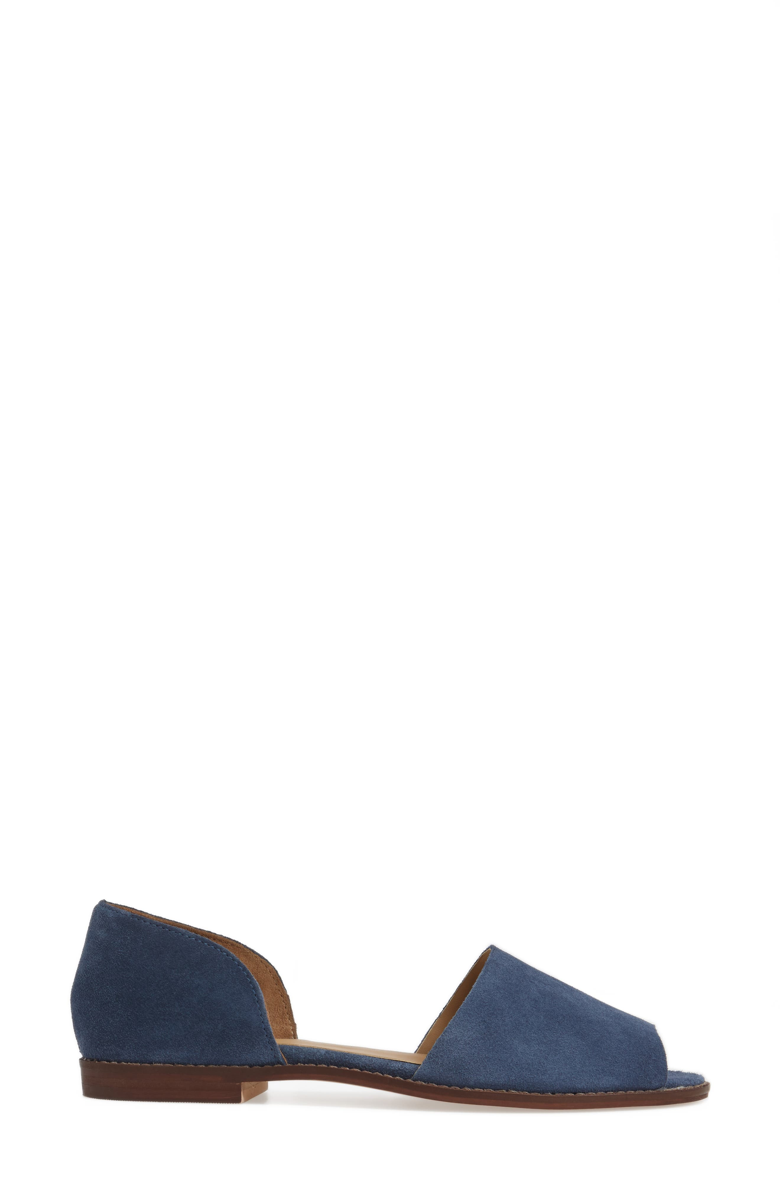 Alternate Image 3  - Topshop 'Once' Peep Toe Flat (Women)