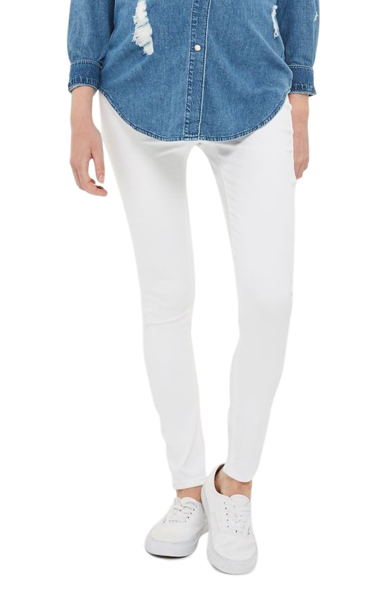 Topshop Joni Maternity Skinny Jeans