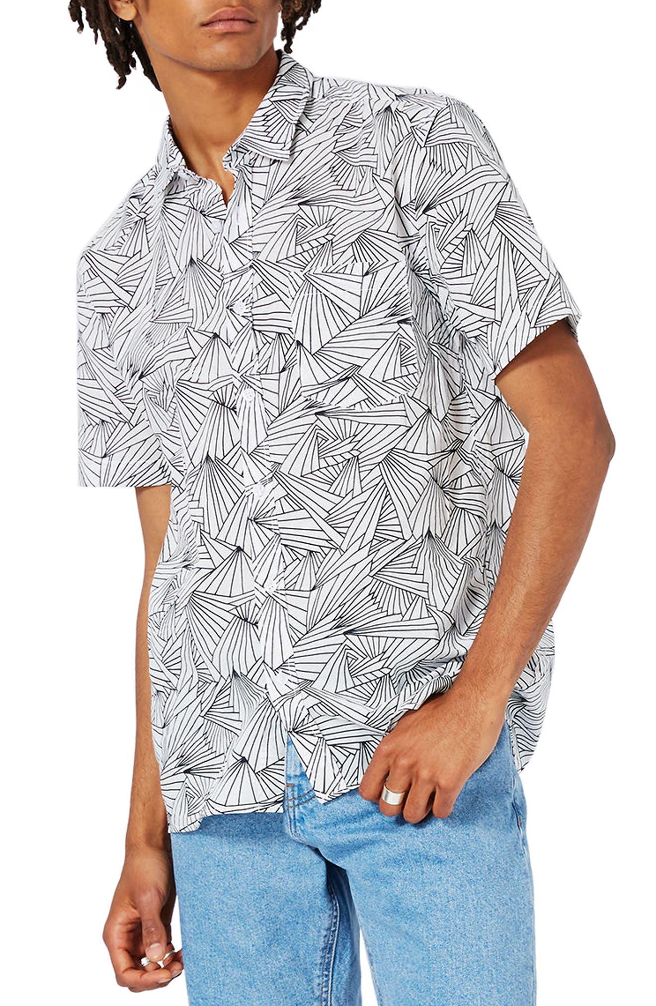 Topman Prism Print Shirt