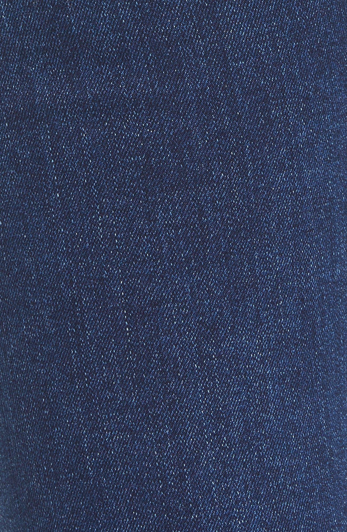 Alternate Image 5  - Hudson Jeans Colette Step Hem Skinny Jeans (Backbone)