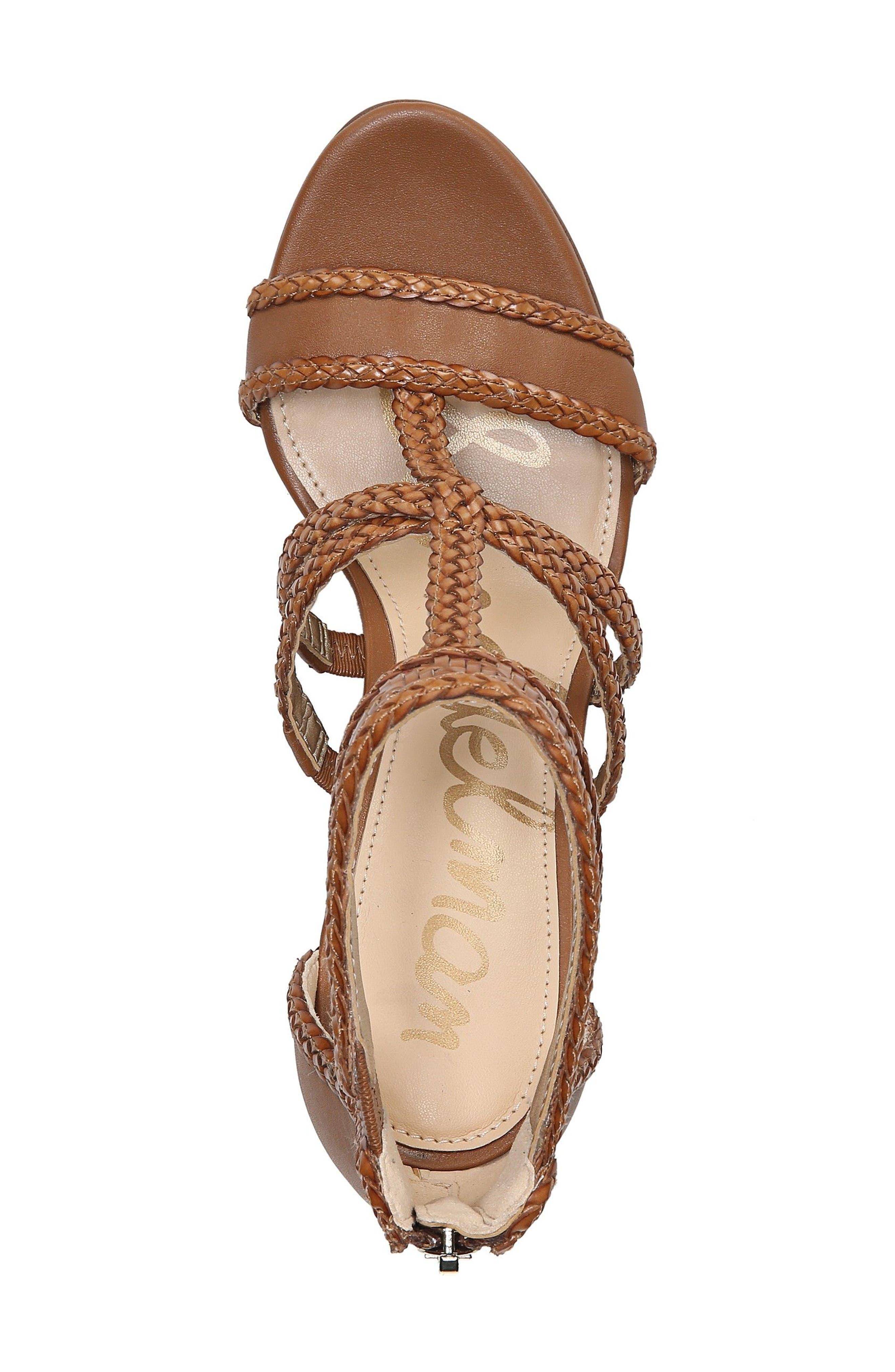 Alternate Image 5  - Sam Edelman Yordana Woven T-Strap Sandal (Women)