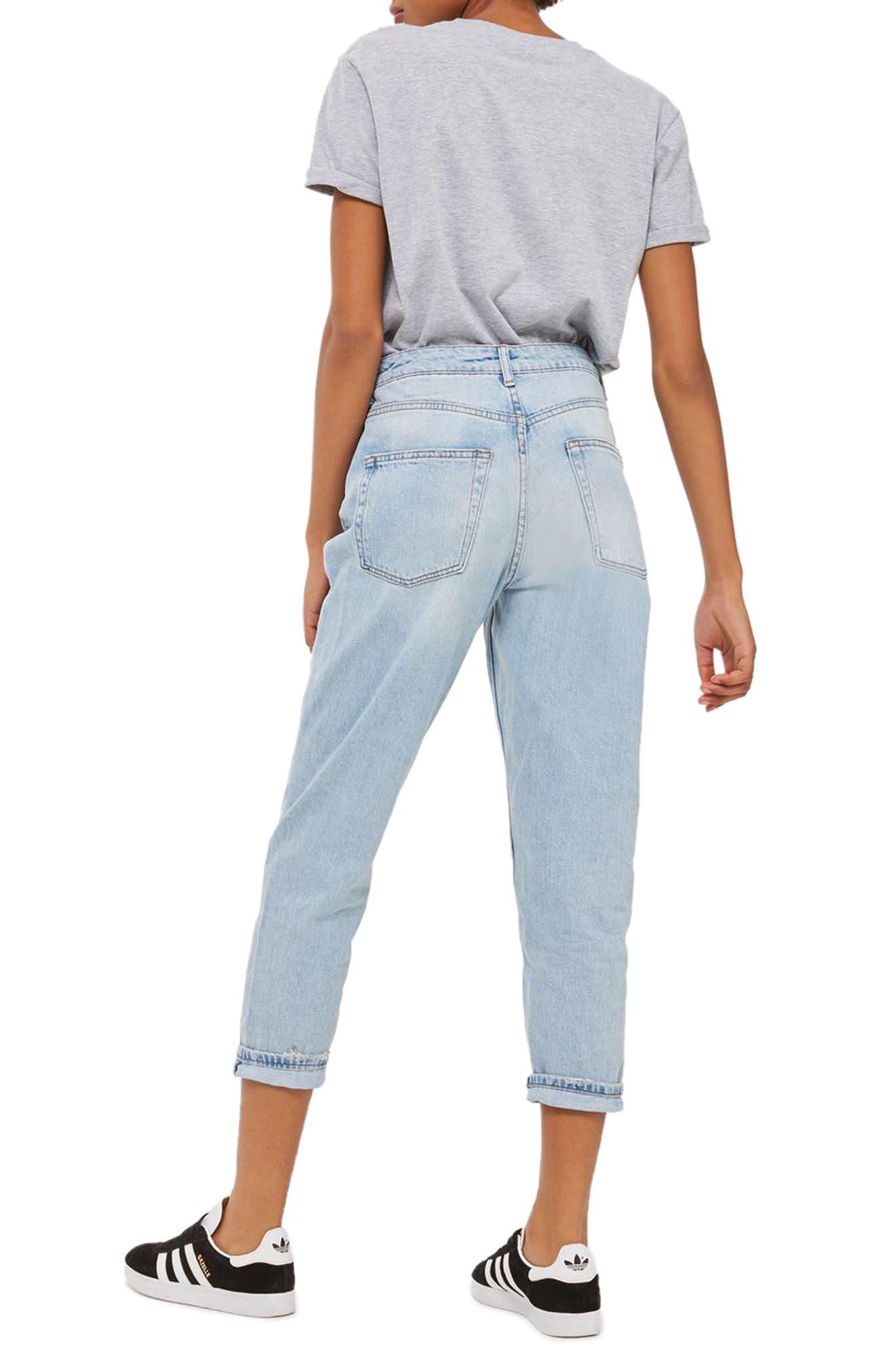 Alternate Image 3  - Topshop Mom Jeans (Petite)
