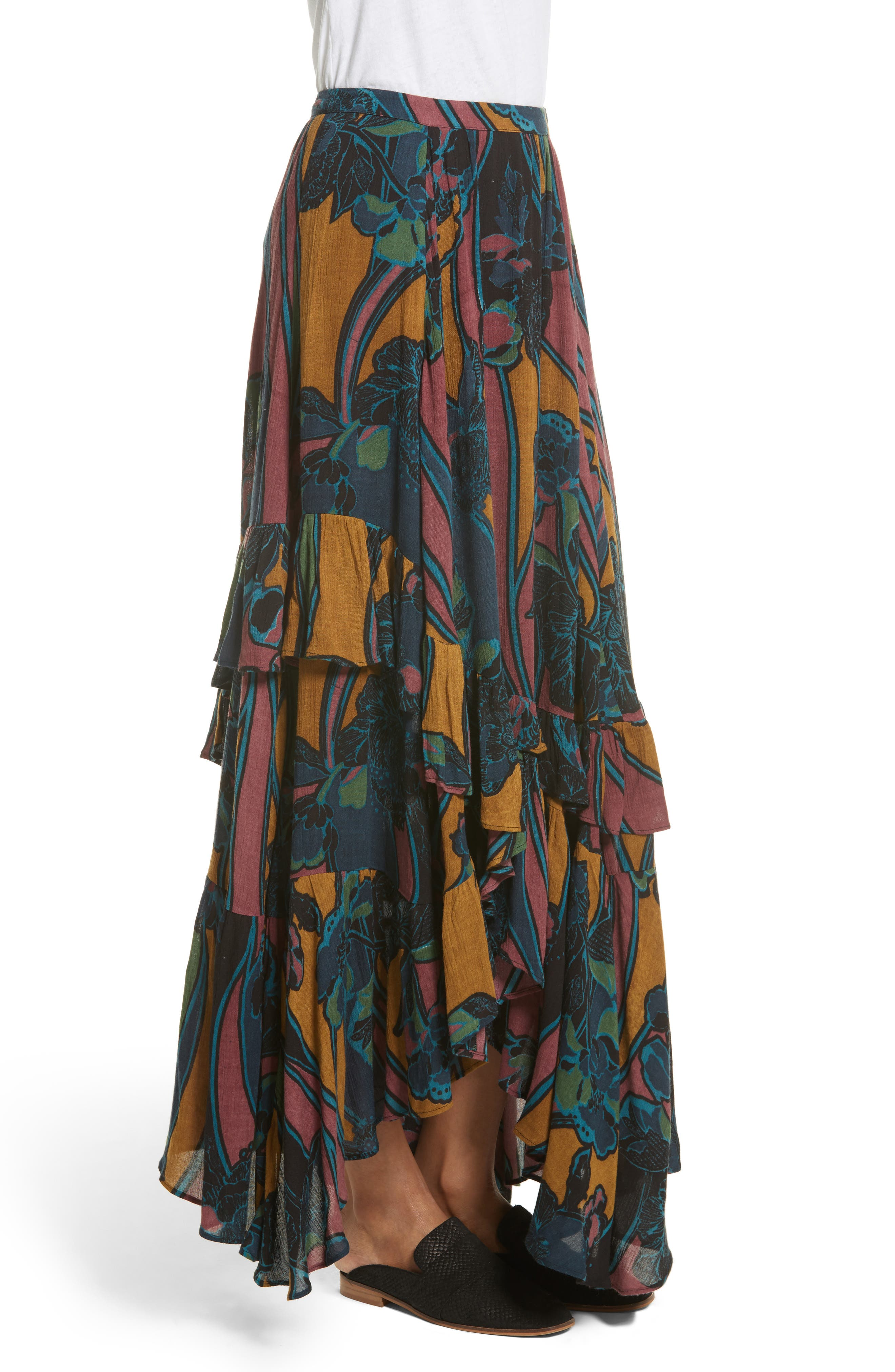 Alternate Image 3  - Free People Bring Back the Summer Maxi Skirt