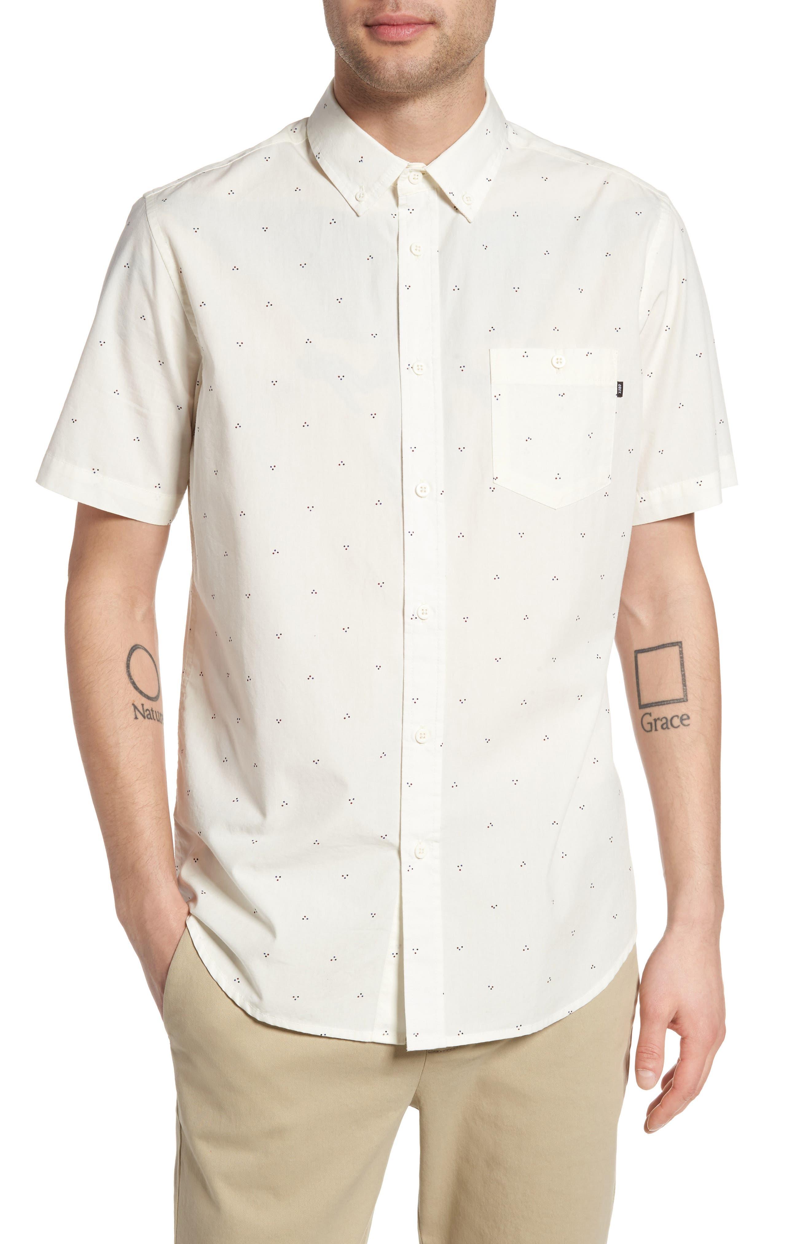 Obey Zeke Print Woven Shirt