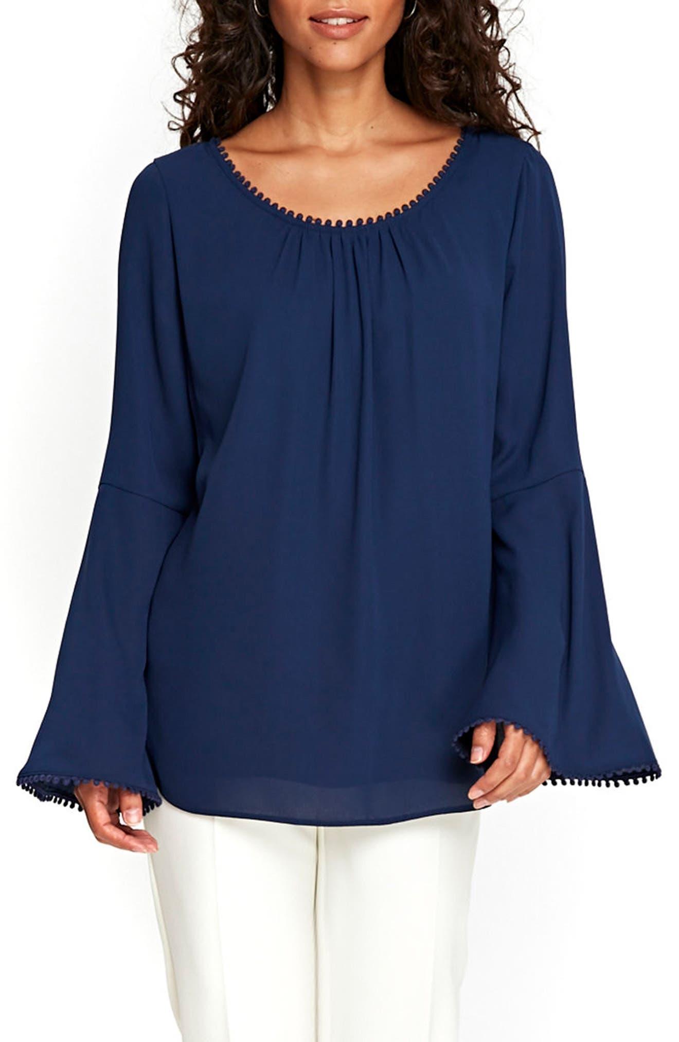 Wallis Bell Sleeve Blouse