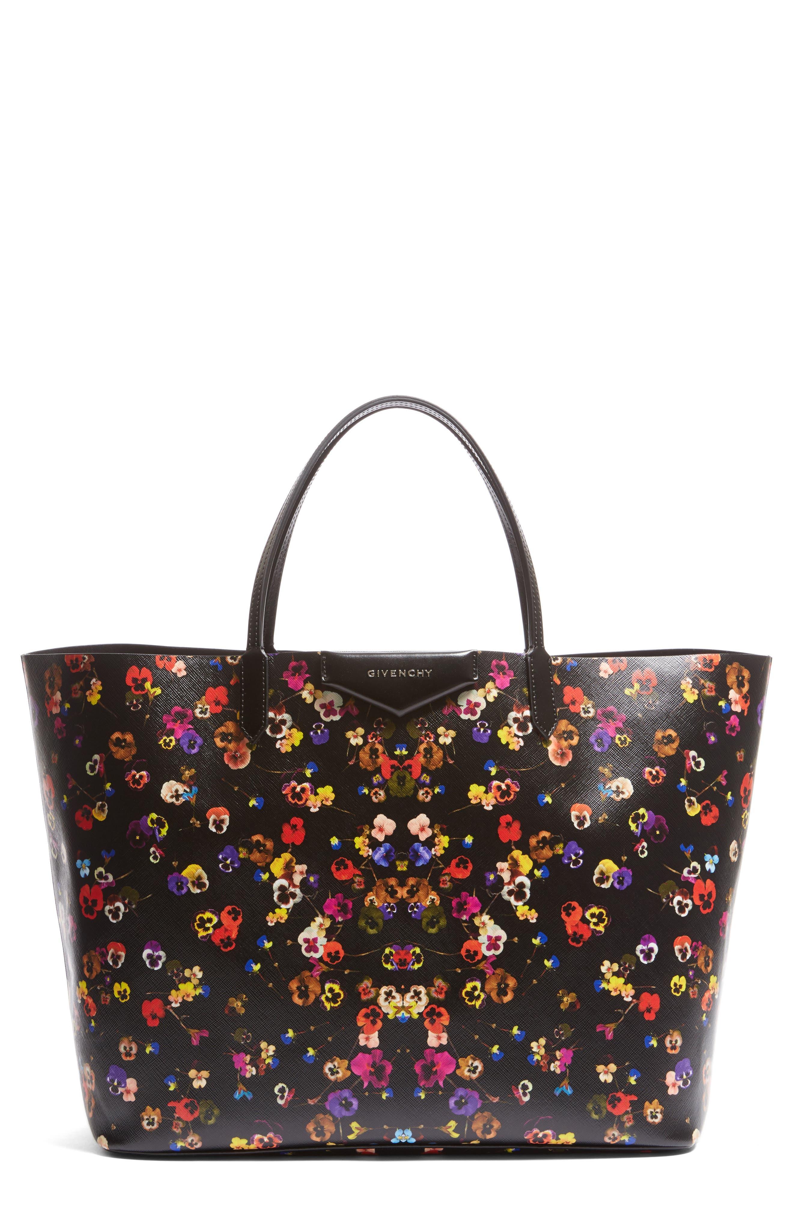 Givenchy Antigona - Night Pansy Saffiano Leather Shopper