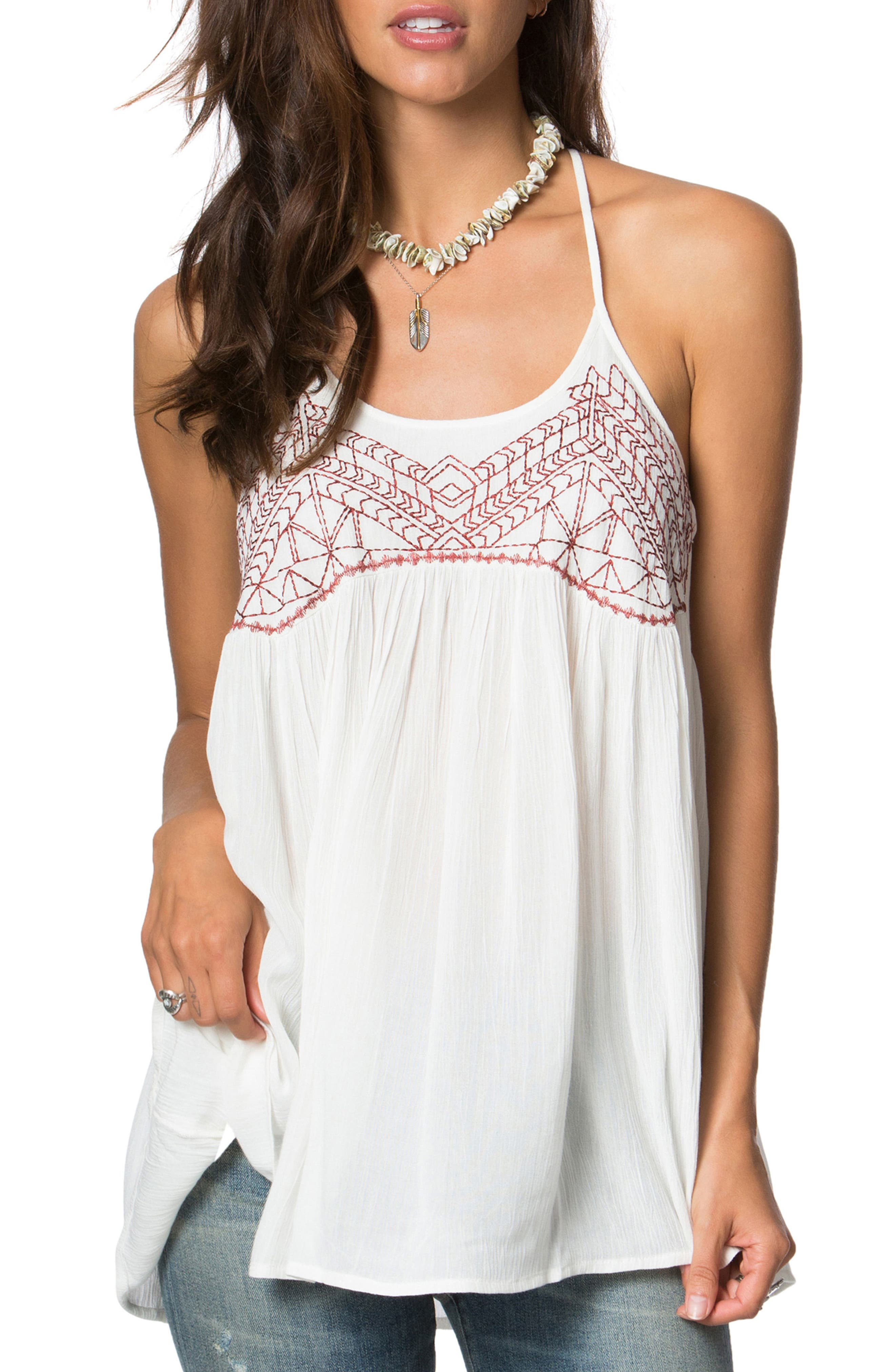 O'Neill Talullah Embroidered Swing Tank