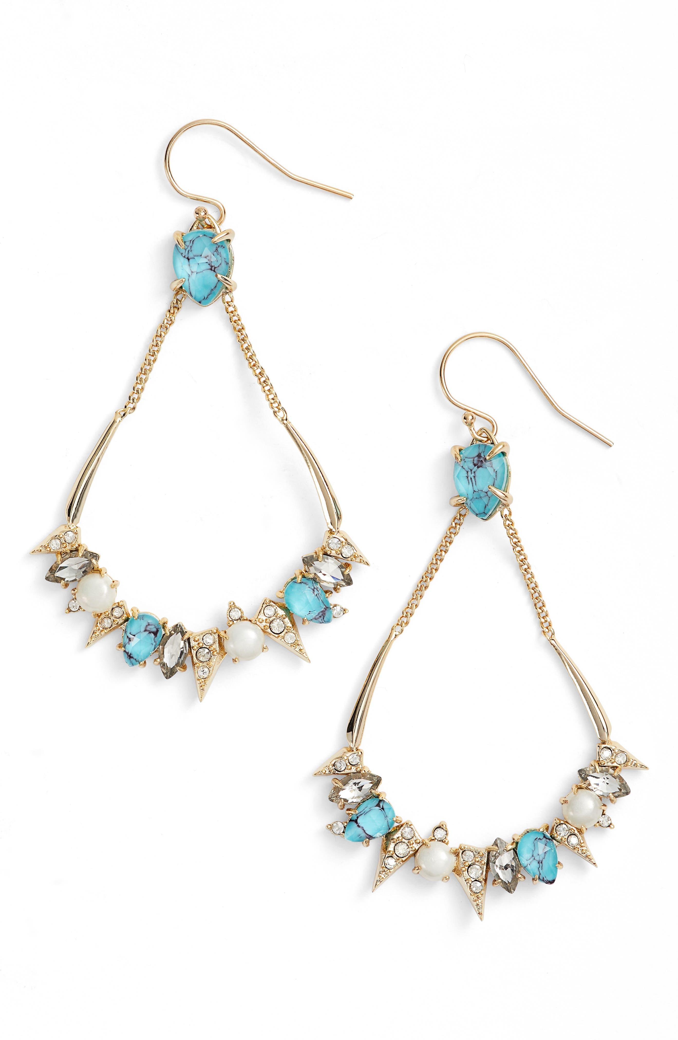 Alexis Bittar Cluster Drop Earrings