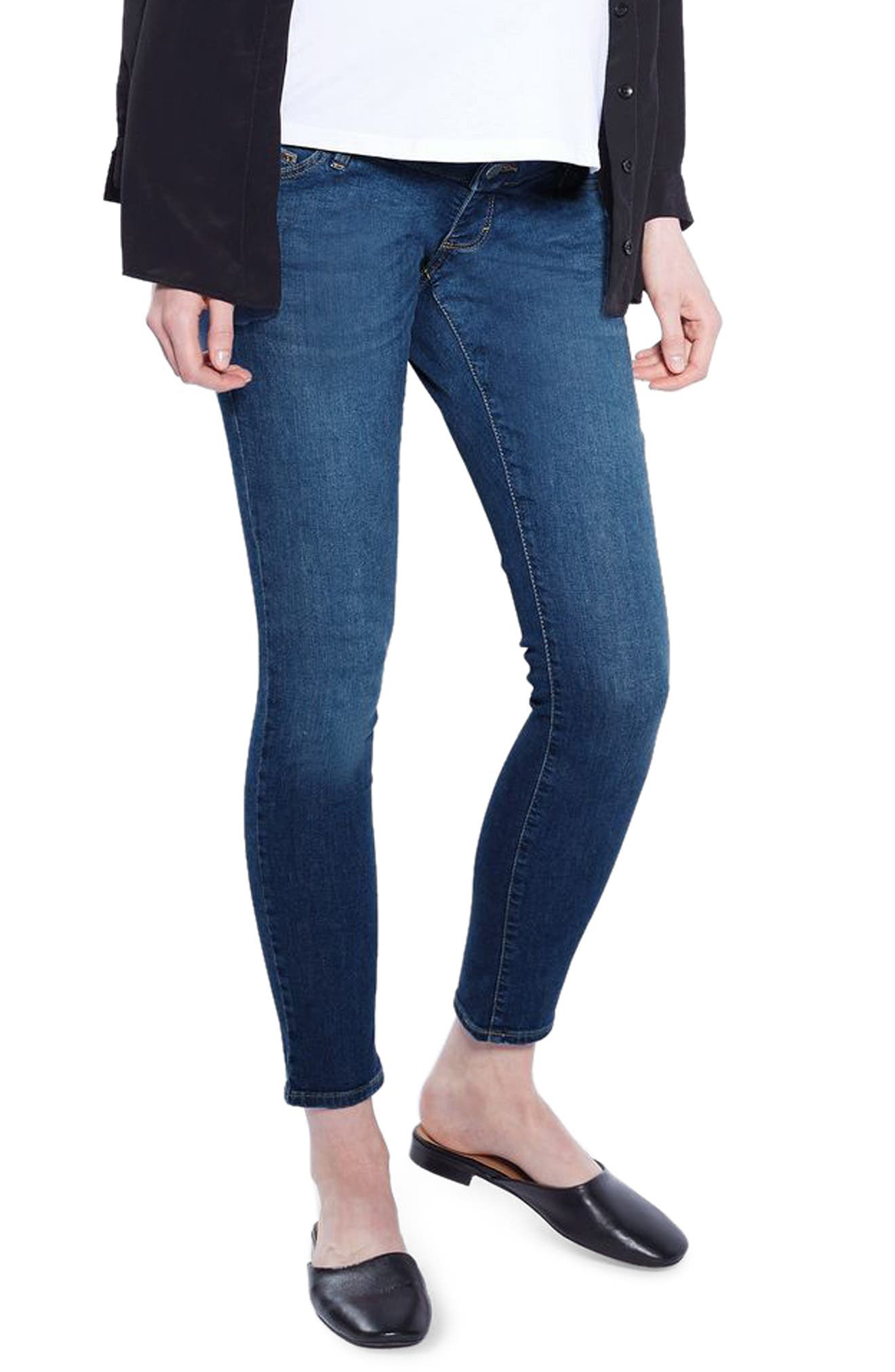 Topshop Leigh Skinny Maternity Jeans