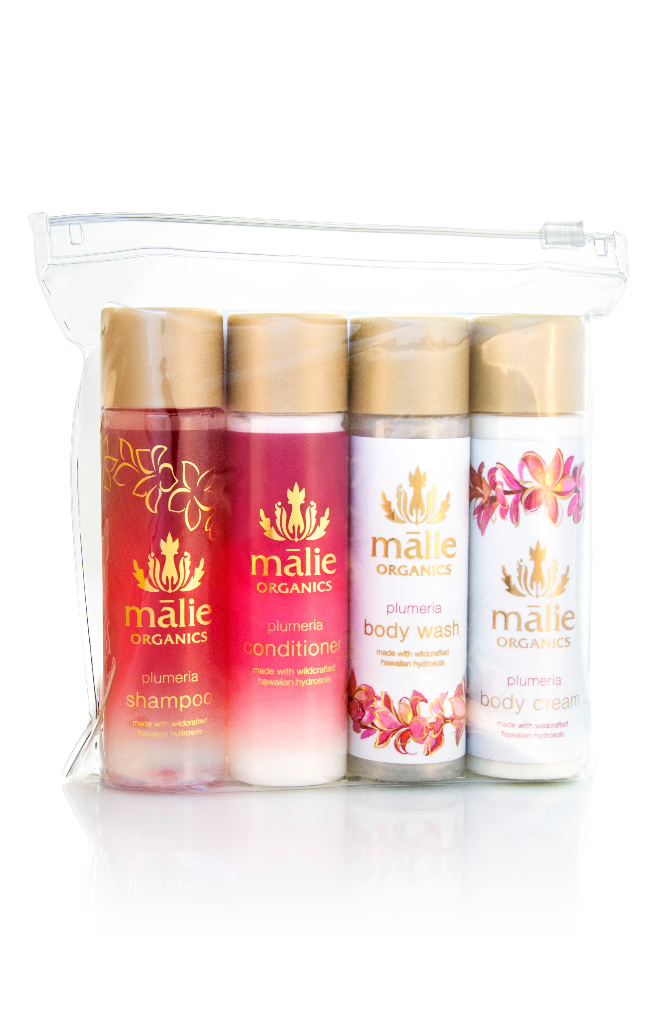 Malie Organics Plumeria Jet Set Collection ($54 Value)