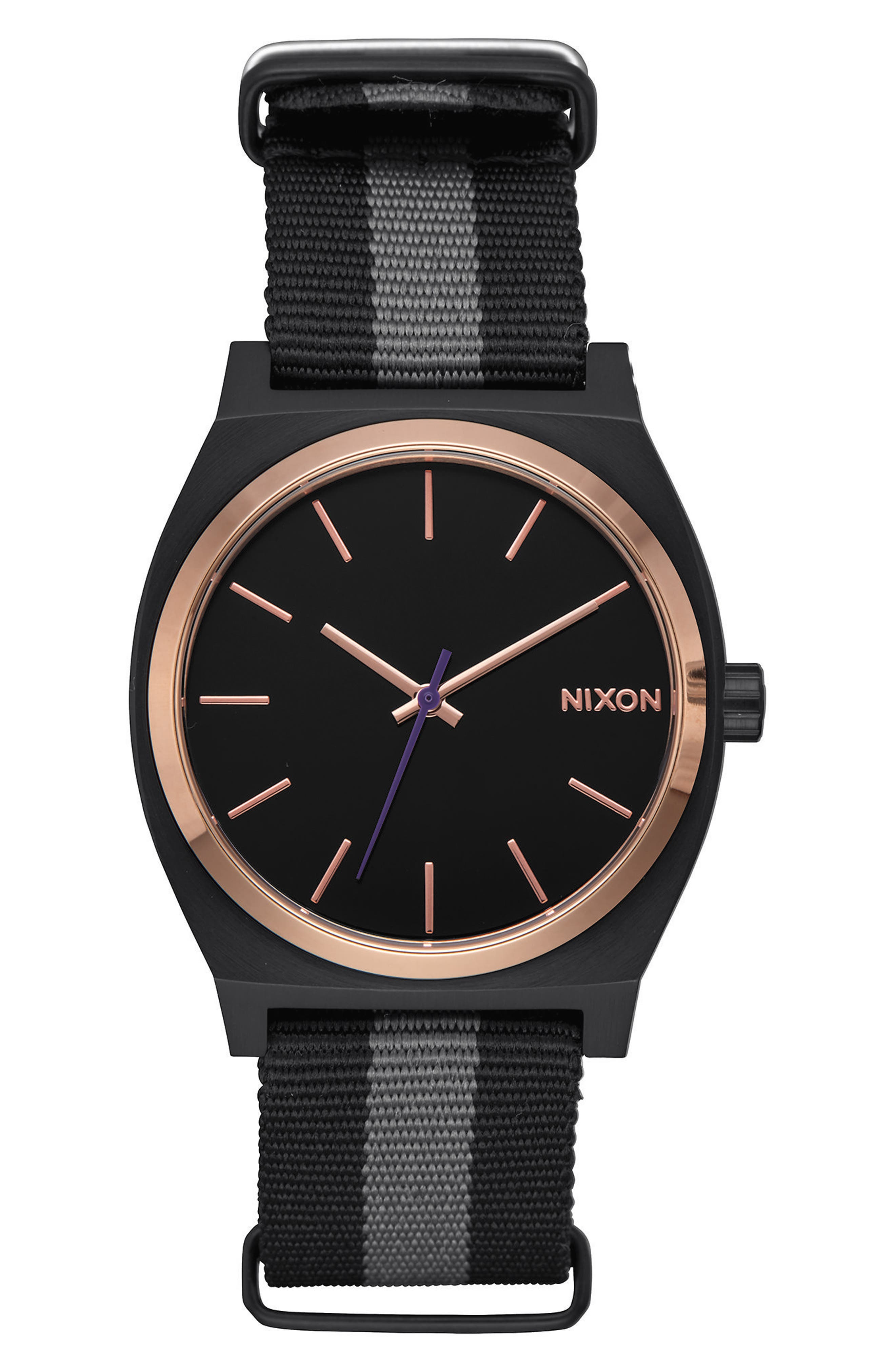 Nixon The Time Teller NATO Strap Watch, 37mm