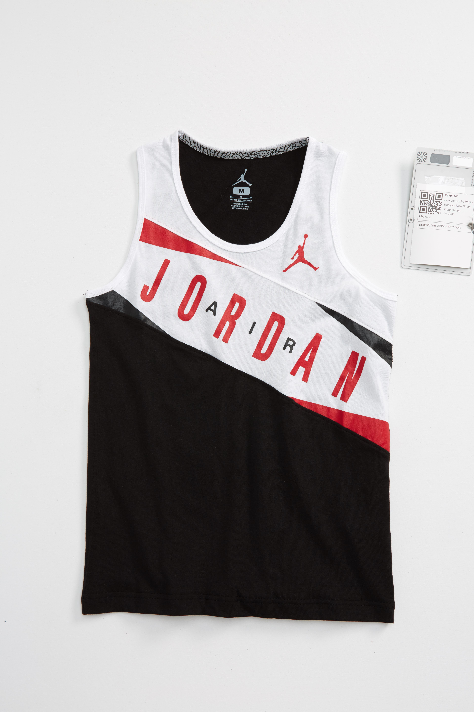 Jordan Pieced Graphic Tank (Big Boys)