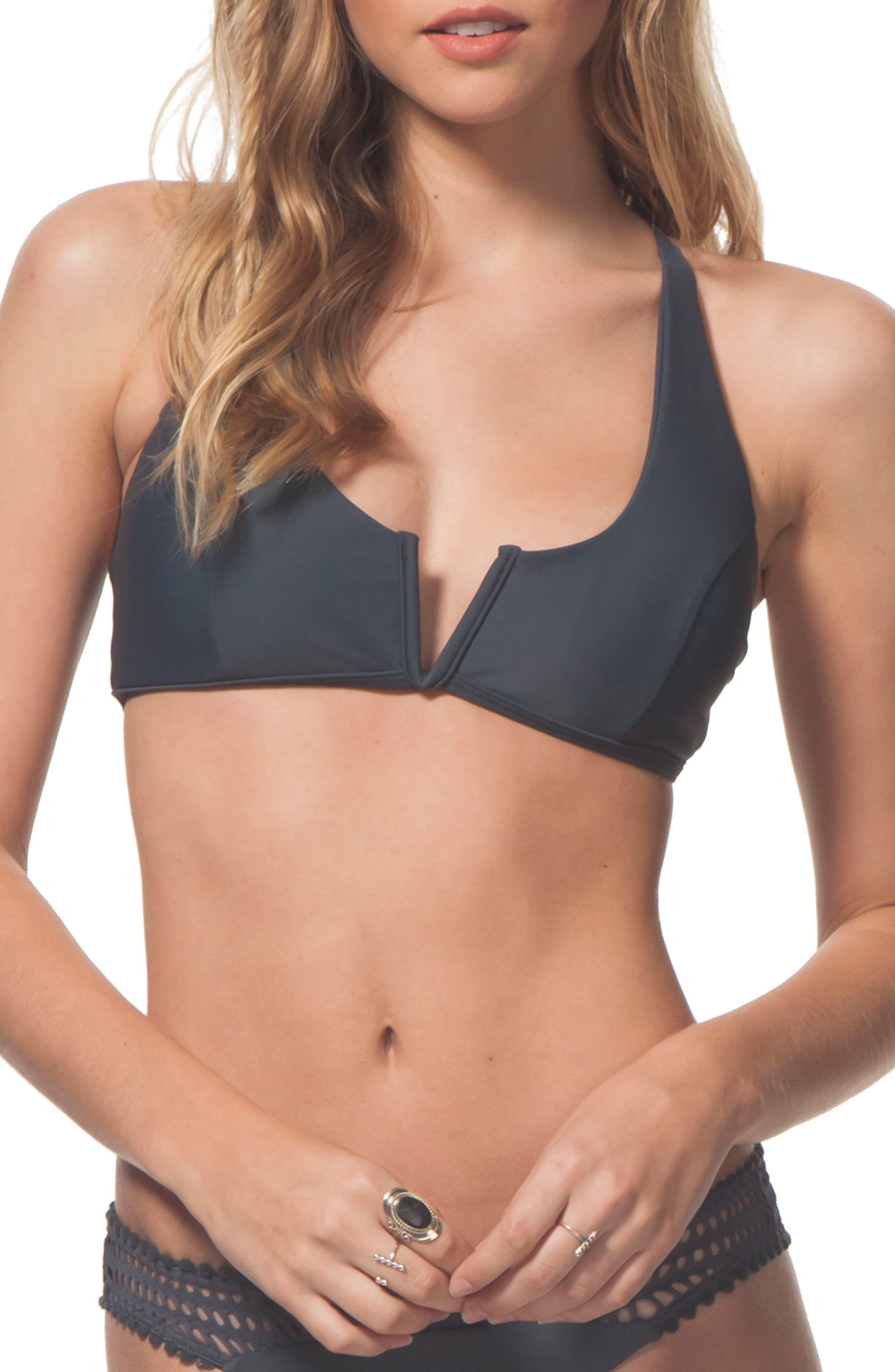 Rip Curl Designer Surf Mesh Bralette Bikini Top