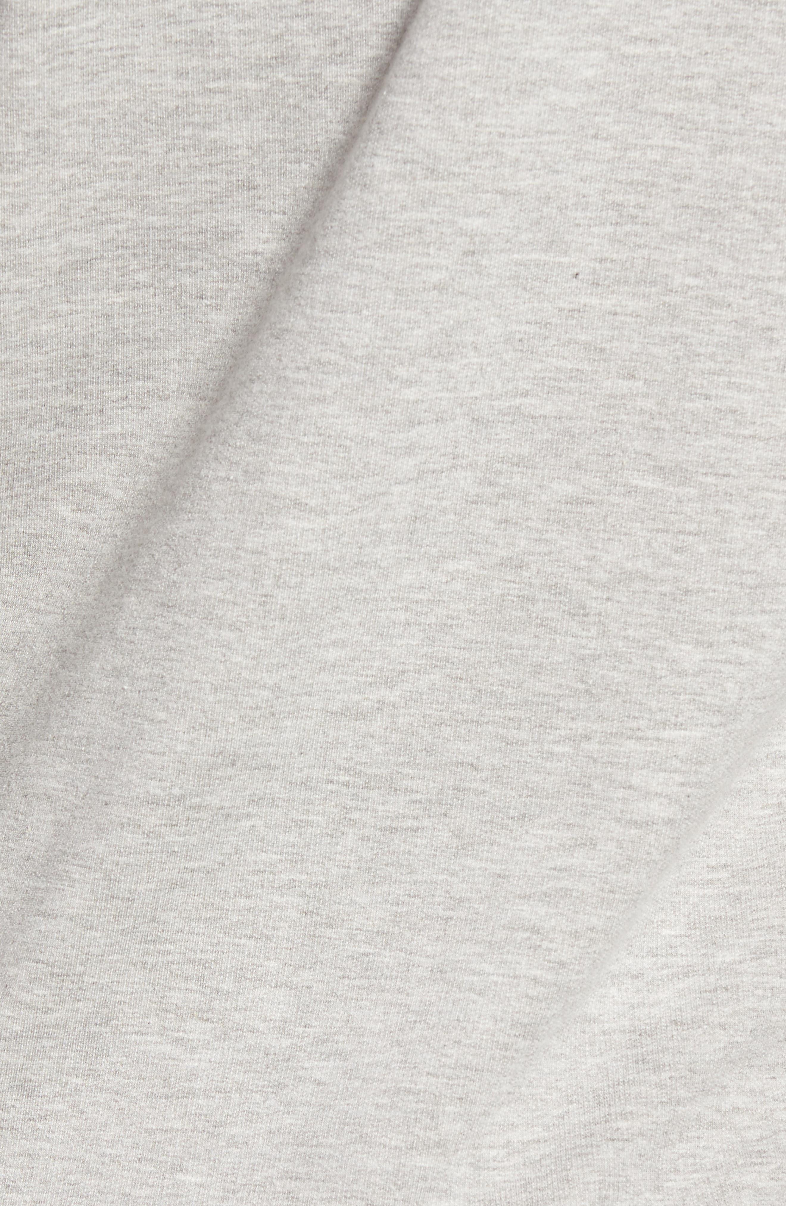 Alternate Image 5  - Caslon® Tie Knot Sweatshirt (Regular & Petite)