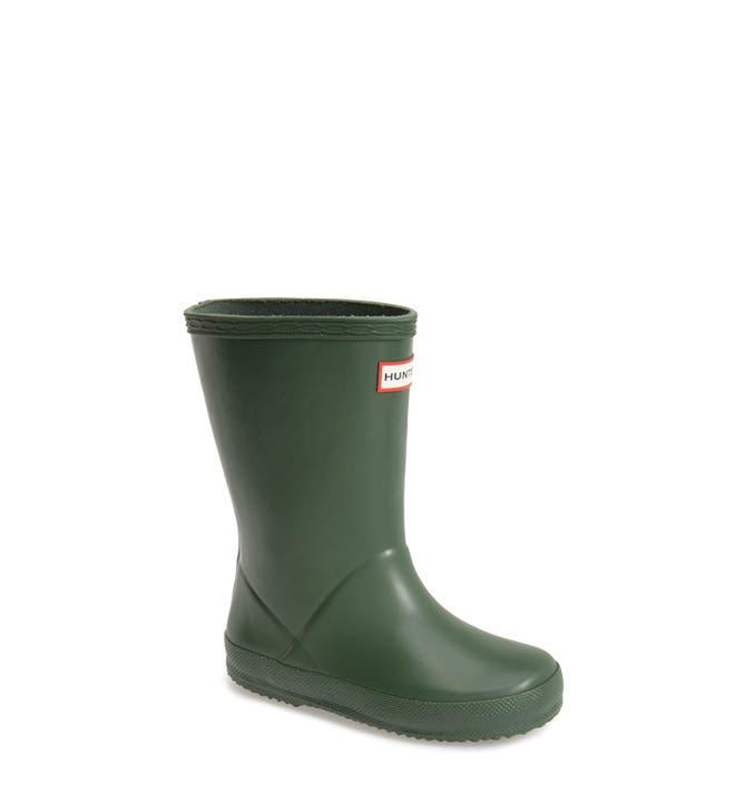 Hunter 'First Classic' Rain Boot (Walker, Toddler & Little Kid ...